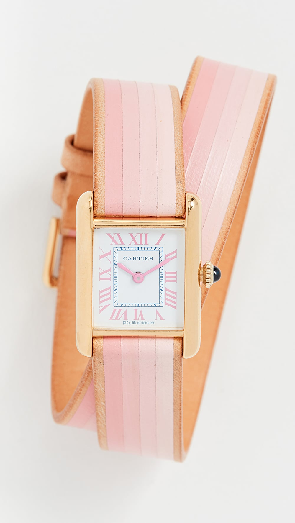 Ambitious La Californienne - Cartier Tank Small Double Strap Watch Quality First