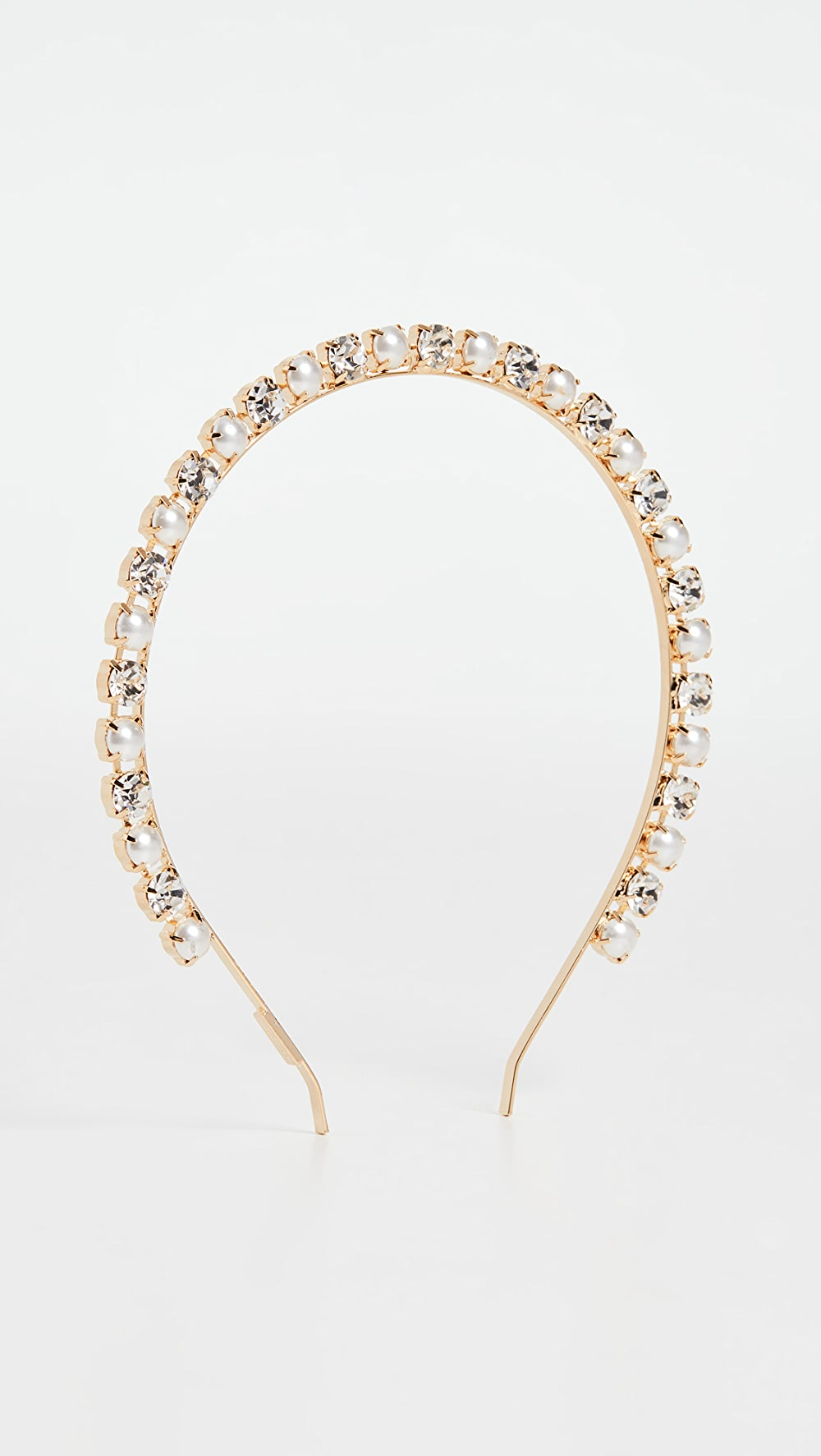 Original Lelet Ny - Glass Pearl & Crystal Headband High Quality And Inexpensive