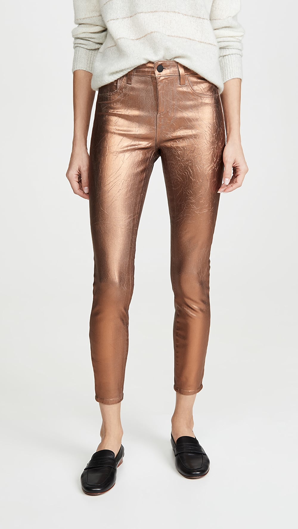 Romantic L'agence - Margot High Rise Skinny Jeans Aromatic Character And Agreeable Taste