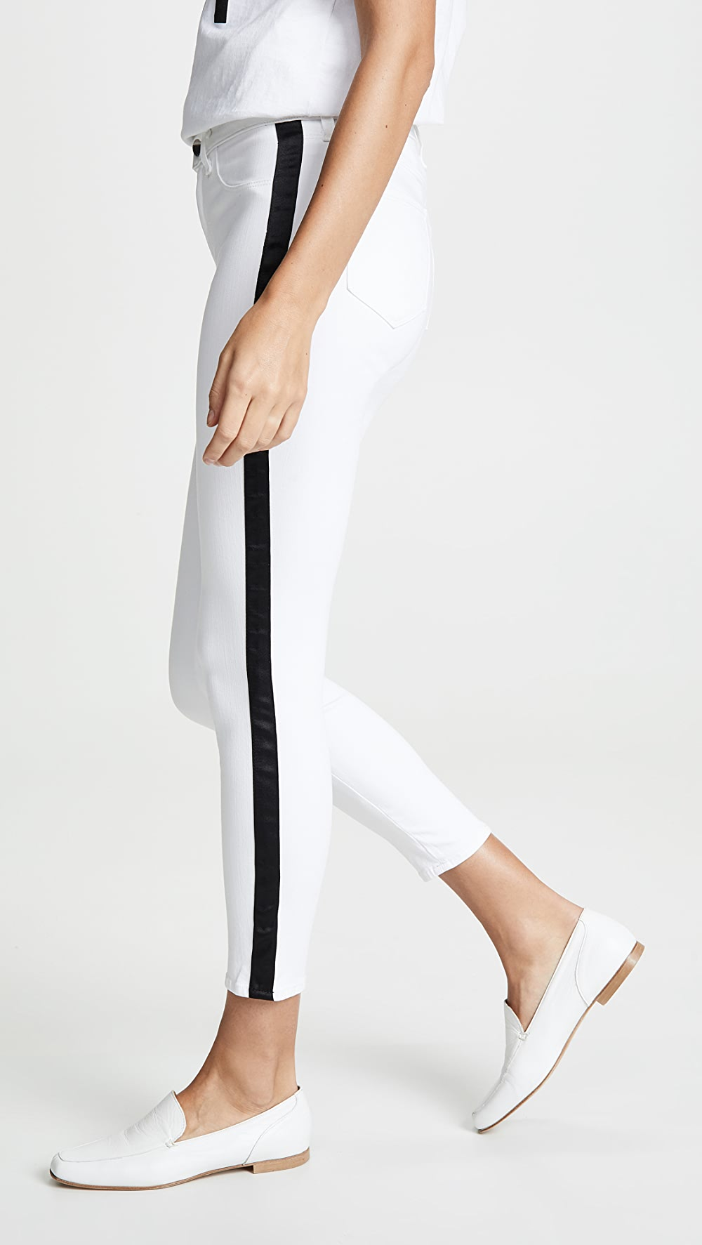 Honesty L'agence - Margot High Rise Skinny Jeans With Tux Stripe Grade Products According To Quality