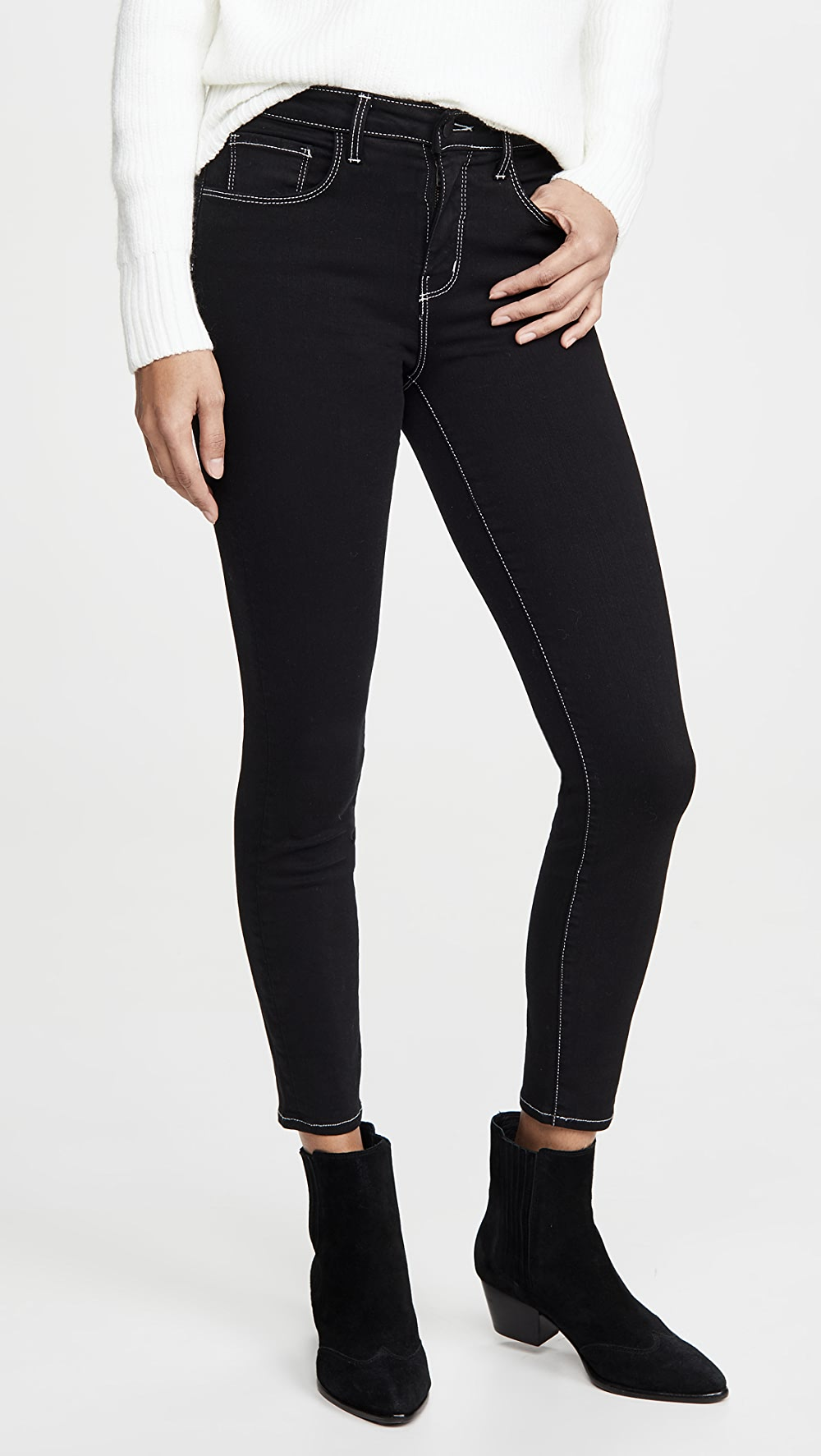 Sincere L'agence - Margot High Waist Skinny Jeans Aesthetic Appearance