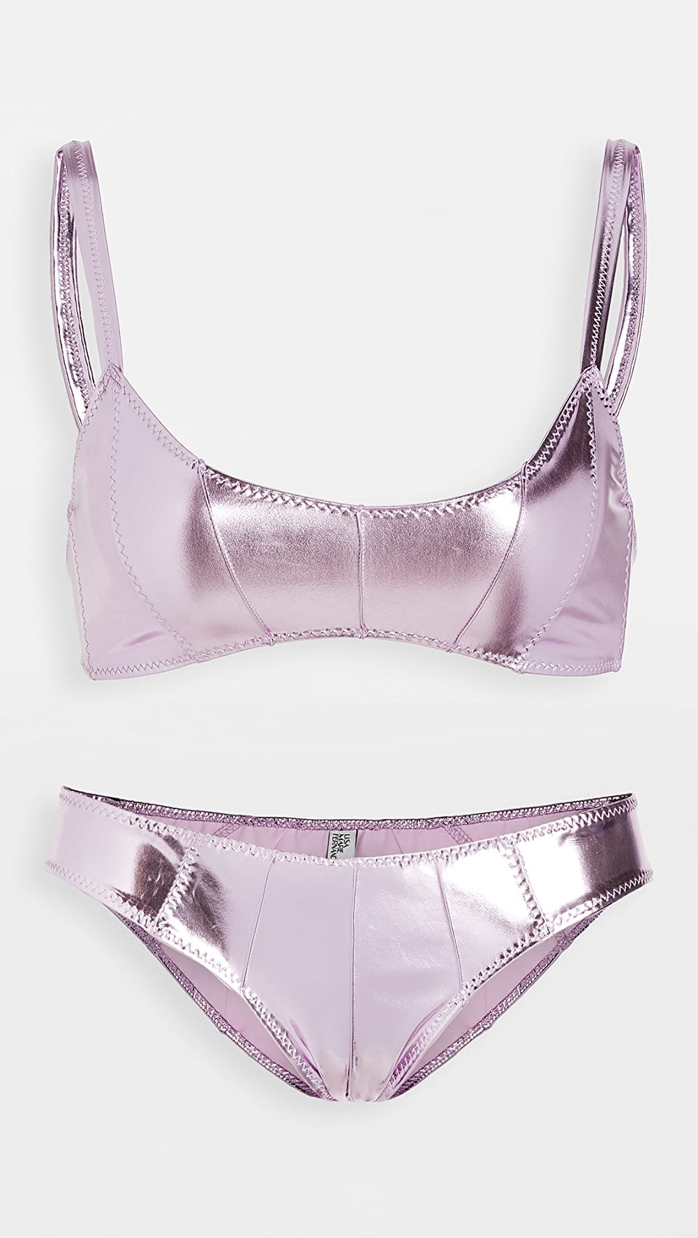 2019 Fashion Lisa Marie Fernandez - Genevieve Pintuck Bikini Set Sale Price