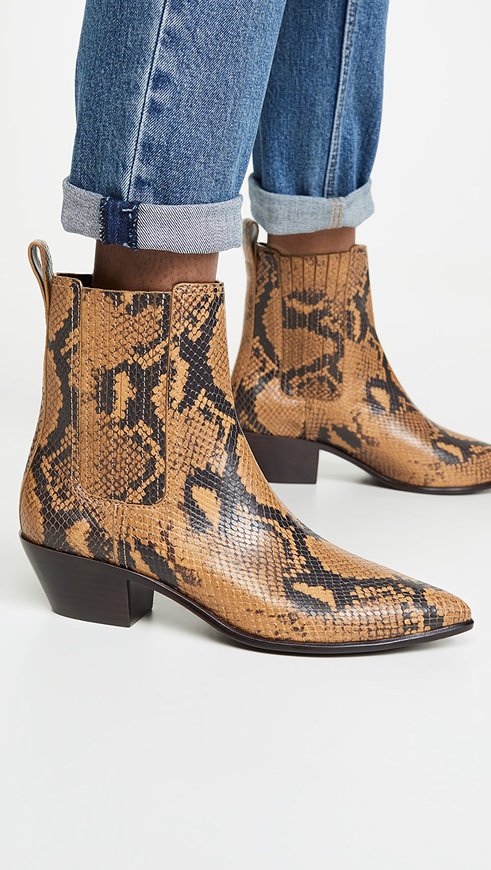 Adroit Loeffler Randall - Aylin Low Western Booties With Gore Fragrant Aroma