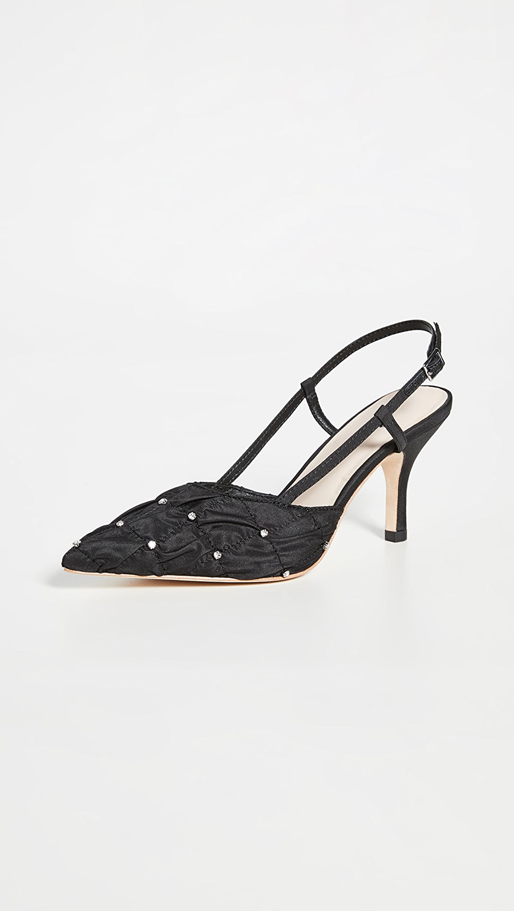 Impartial Loeffler Randall - Athea Pointy Toe Slingback Pumps Vivid And Great In Style