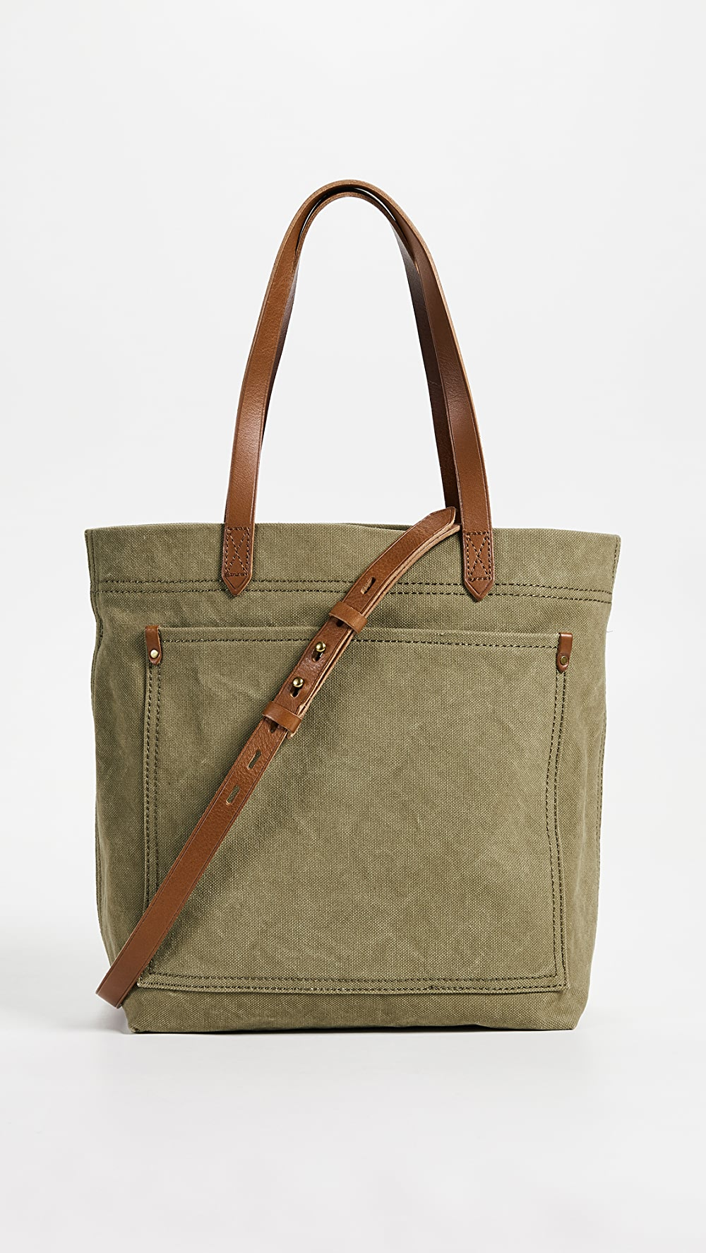 2019 New Style Madewell - The Canvas Medium Transport Tote Warm And Windproof