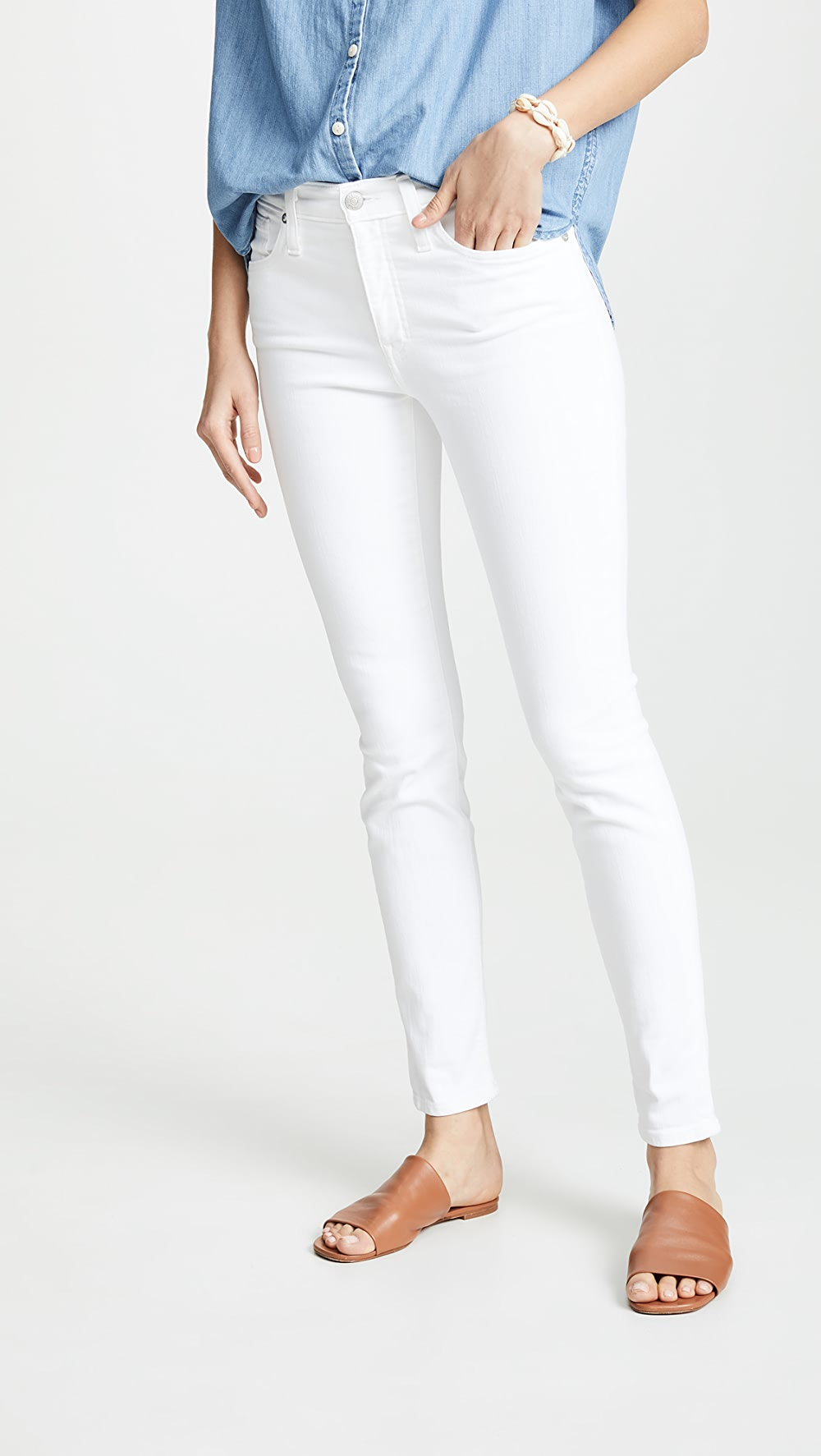 100% True Madewell - High Rise Skinny Jeans 100% Original