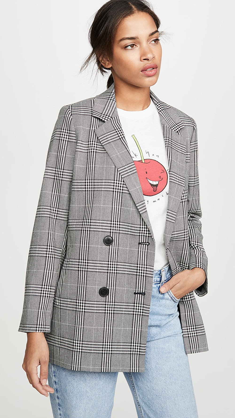Amiable Madewell - Caldwell Double Breasted Blazer Promoting Health And Curing Diseases