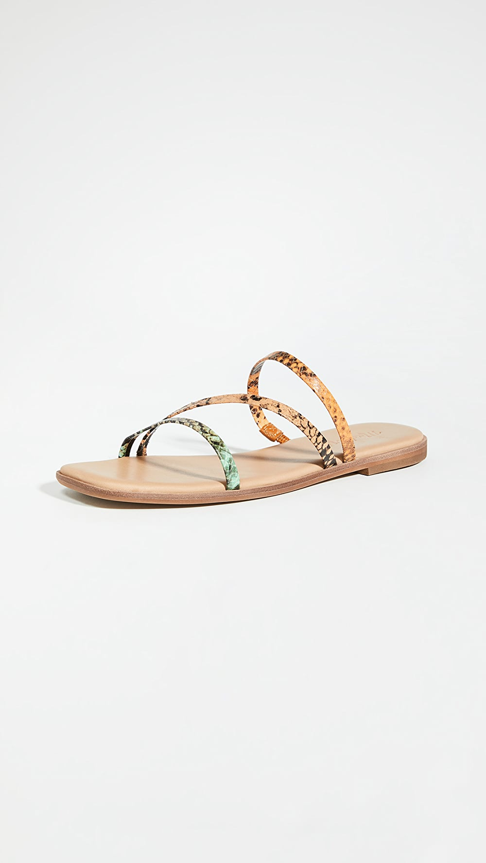 Buy Cheap Madewell - Leslie Bare Square Toe Sandals Goods Of Every Description Are Available