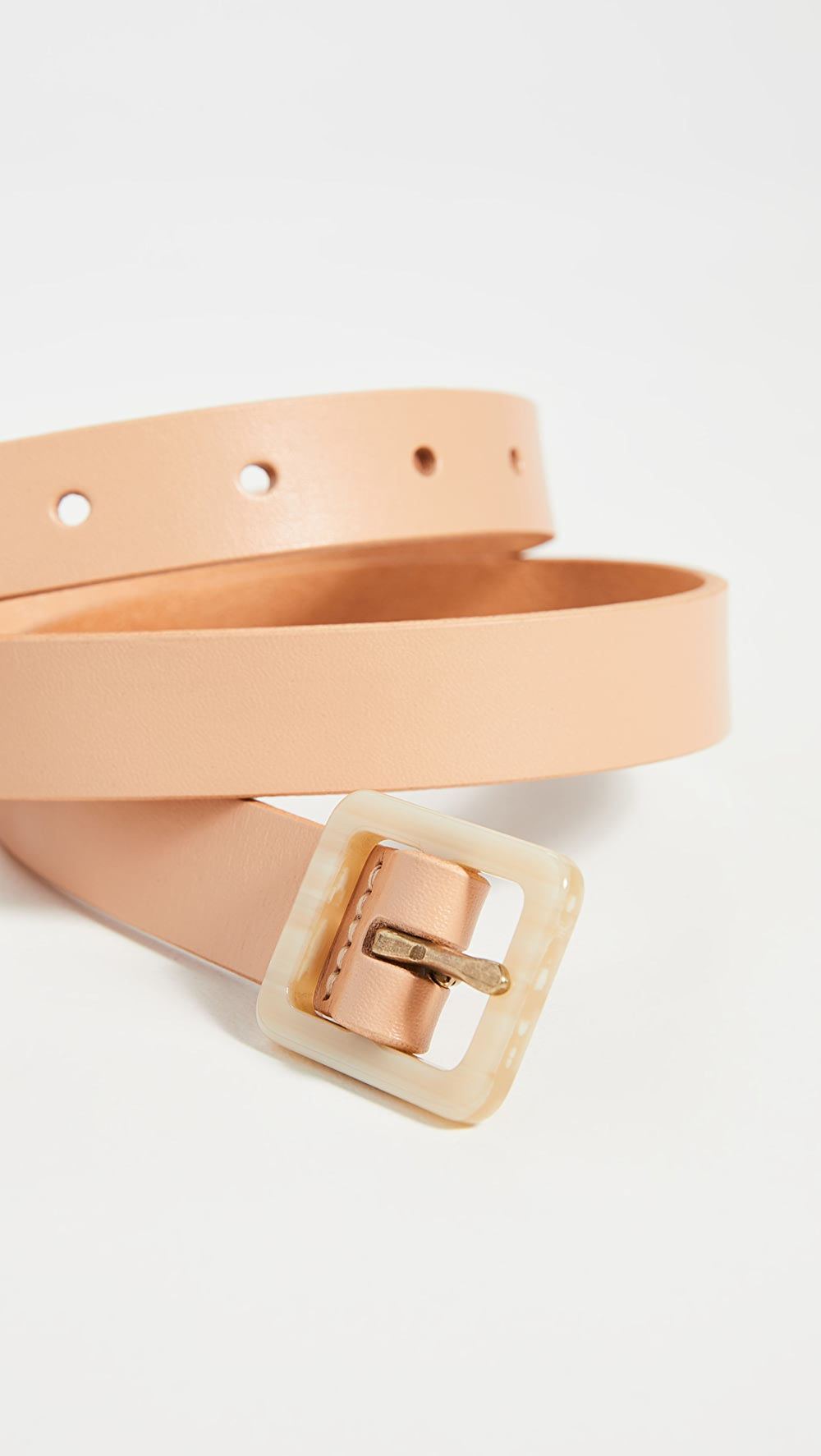Amiable Madewell - Acetate Buckle Belt Fashionable(In) Style;