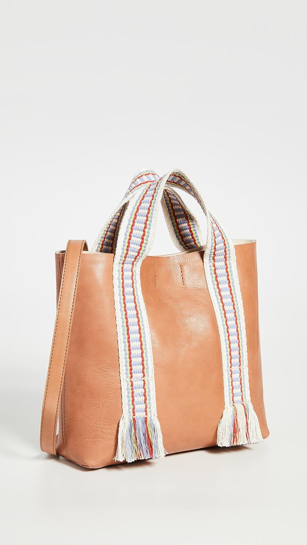 Modest Madewell - Transport Inset Zip Crossbody Bag Jade White