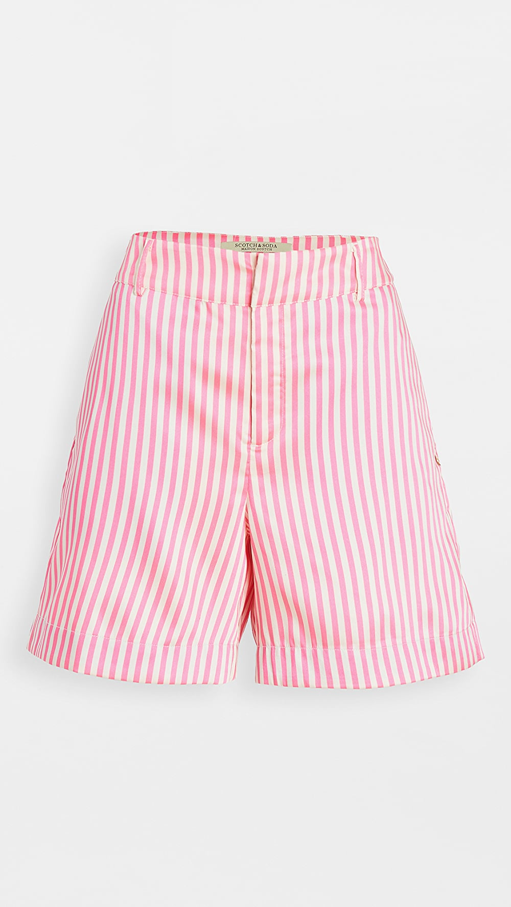 Buy Cheap Scotch & Soda/maison Scotch - Striped Tailored Shorts Clear-Cut Texture