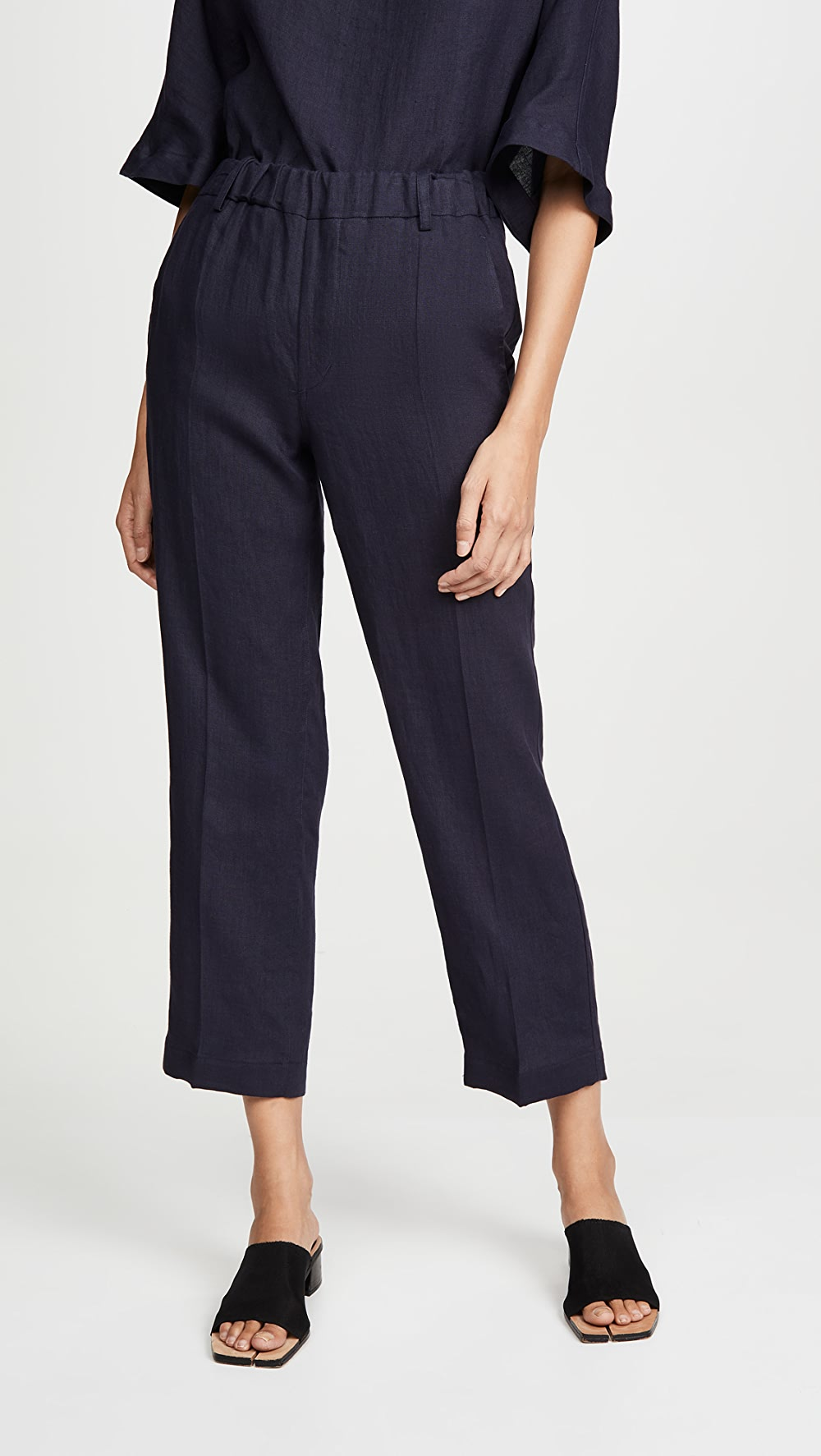 Search For Flights Mansur Gavriel - Linen Pull On Pants A Complete Range Of Specifications