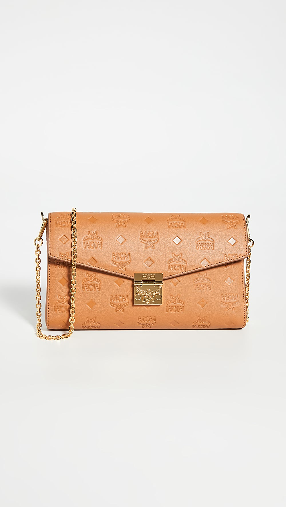 Imported From Abroad Mcm - Millie Monogrammed Small Crossbody Bag Choice Materials
