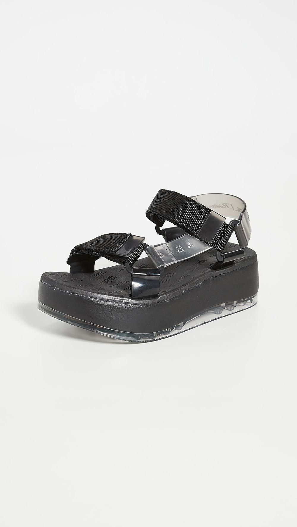 Aggressive Melissa - Melissa Papete Platform Sandals Lovely Luster