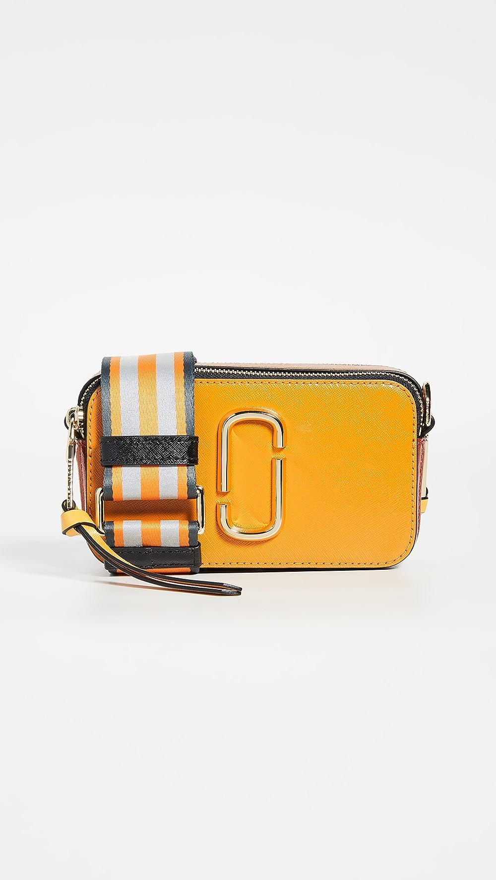 100% True The Marc Jacobs - Snapshot Camera Bag Clear-Cut Texture