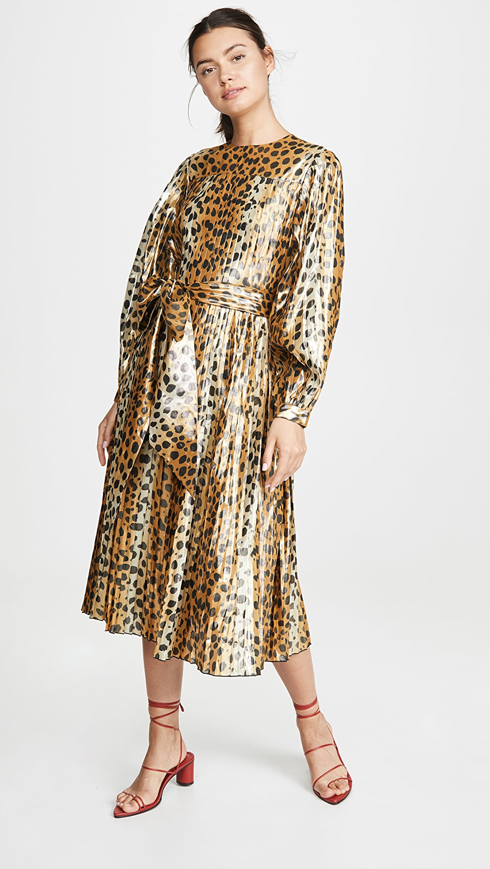 100% Quality The Marc Jacobs - Pleated Dress With Traditional Methods