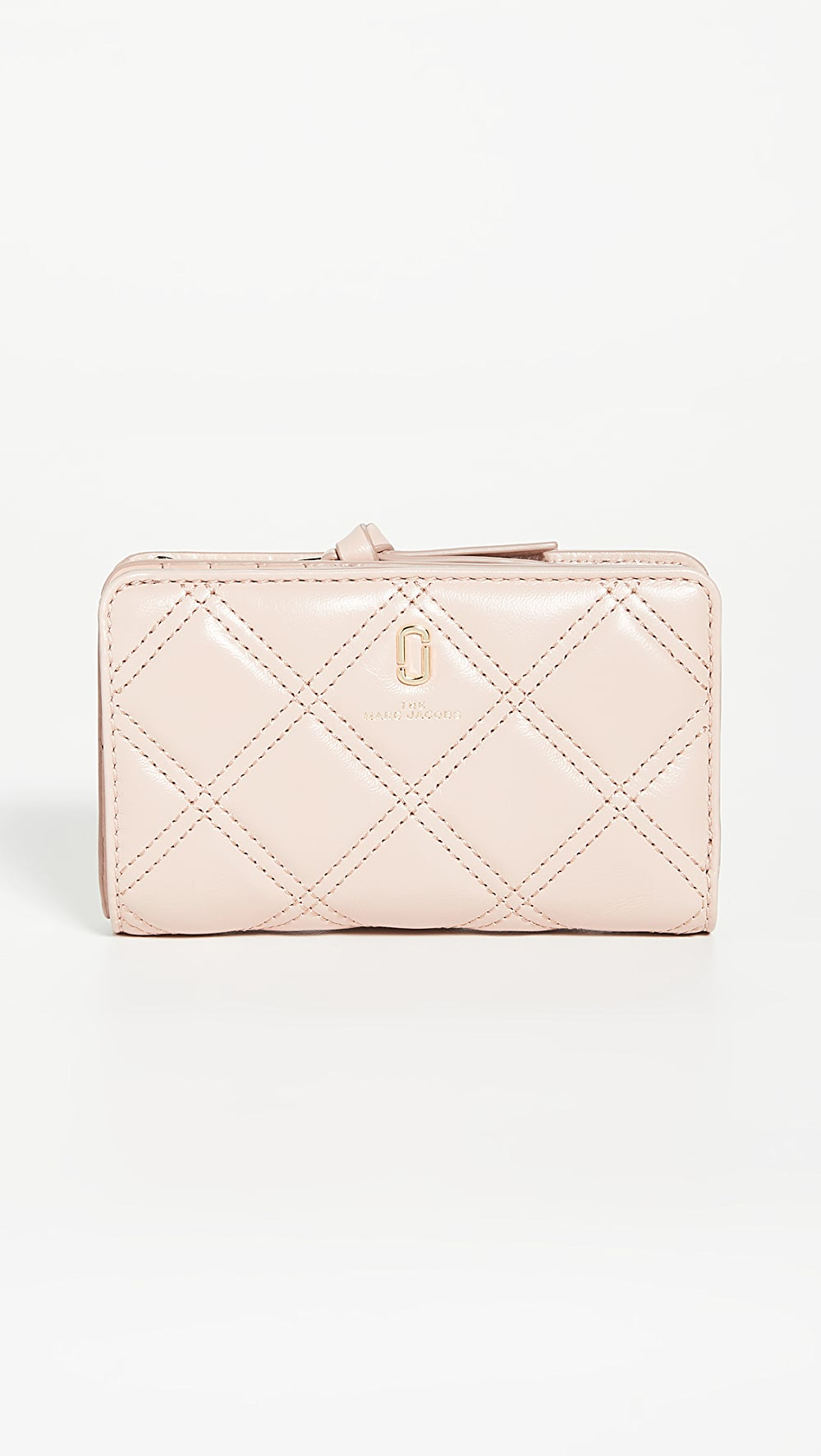 Well-Educated The Marc Jacobs - The Quilted Softshot Compact Wallet Easy To Lubricate