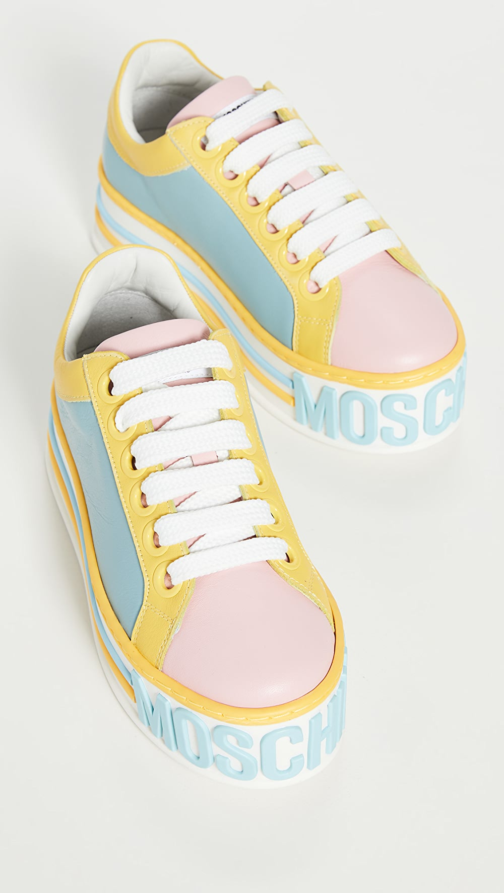 100% True Moschino - Moschino Platform W Sneakers Fast Color