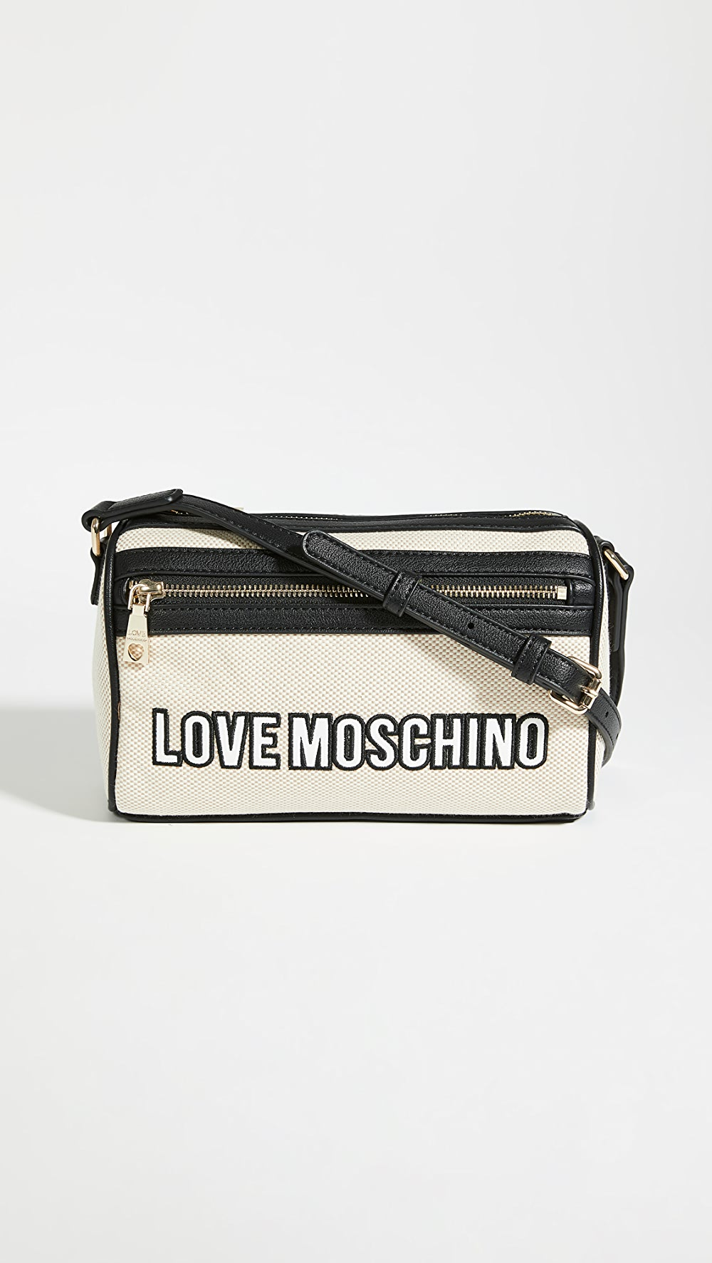 Aggressive Moschino - Love Moschino Canvas Crossbody Bag Top Watermelons