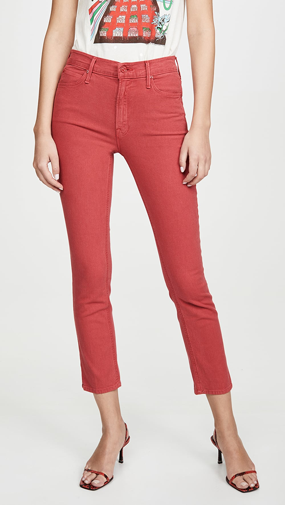 Capable Mother - The Mid Rise Dazzler Ankle Jeans To Win A High Admiration