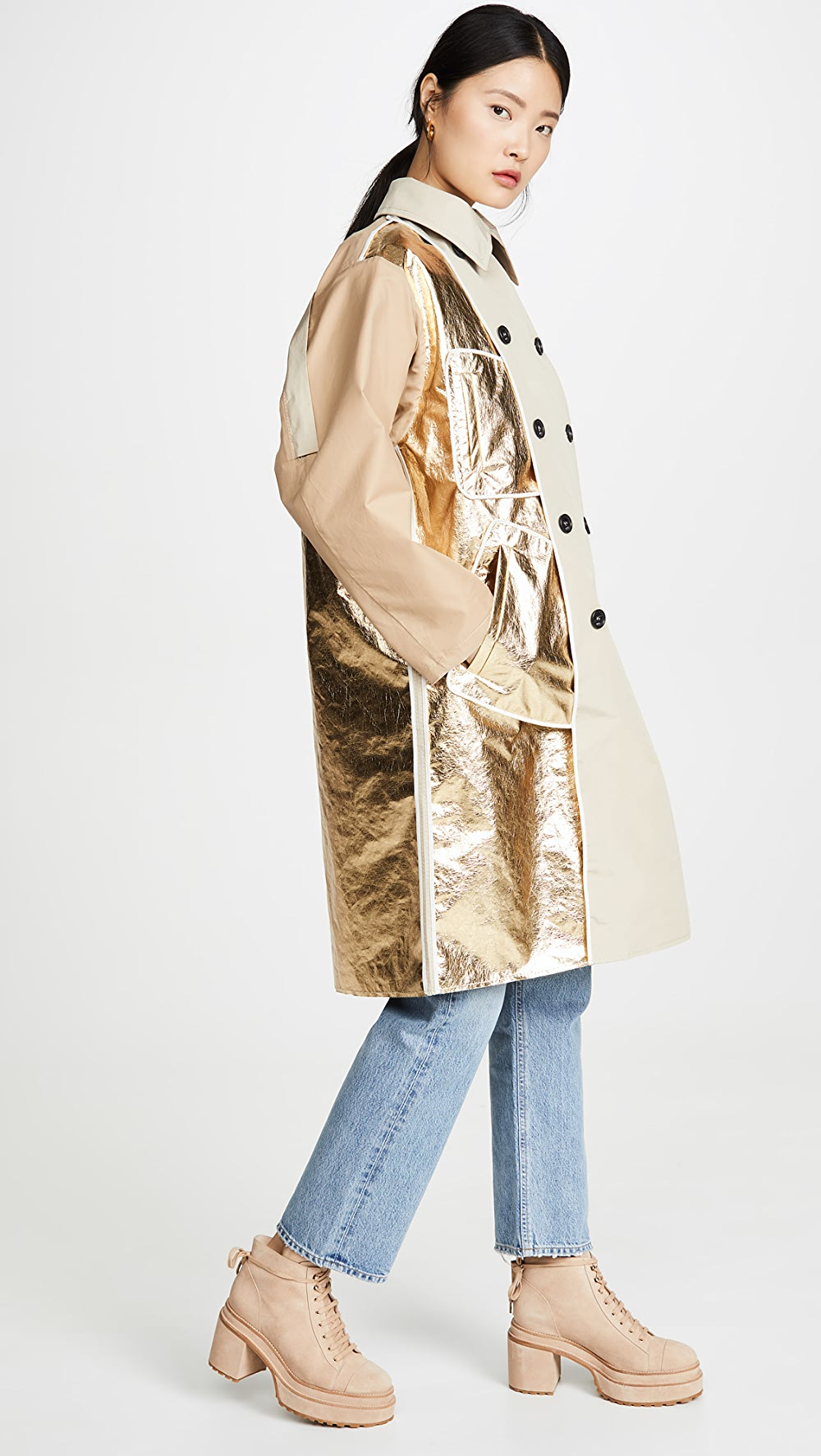 Adaptable No. 21 - Metallic Detail Trench Durable Modeling
