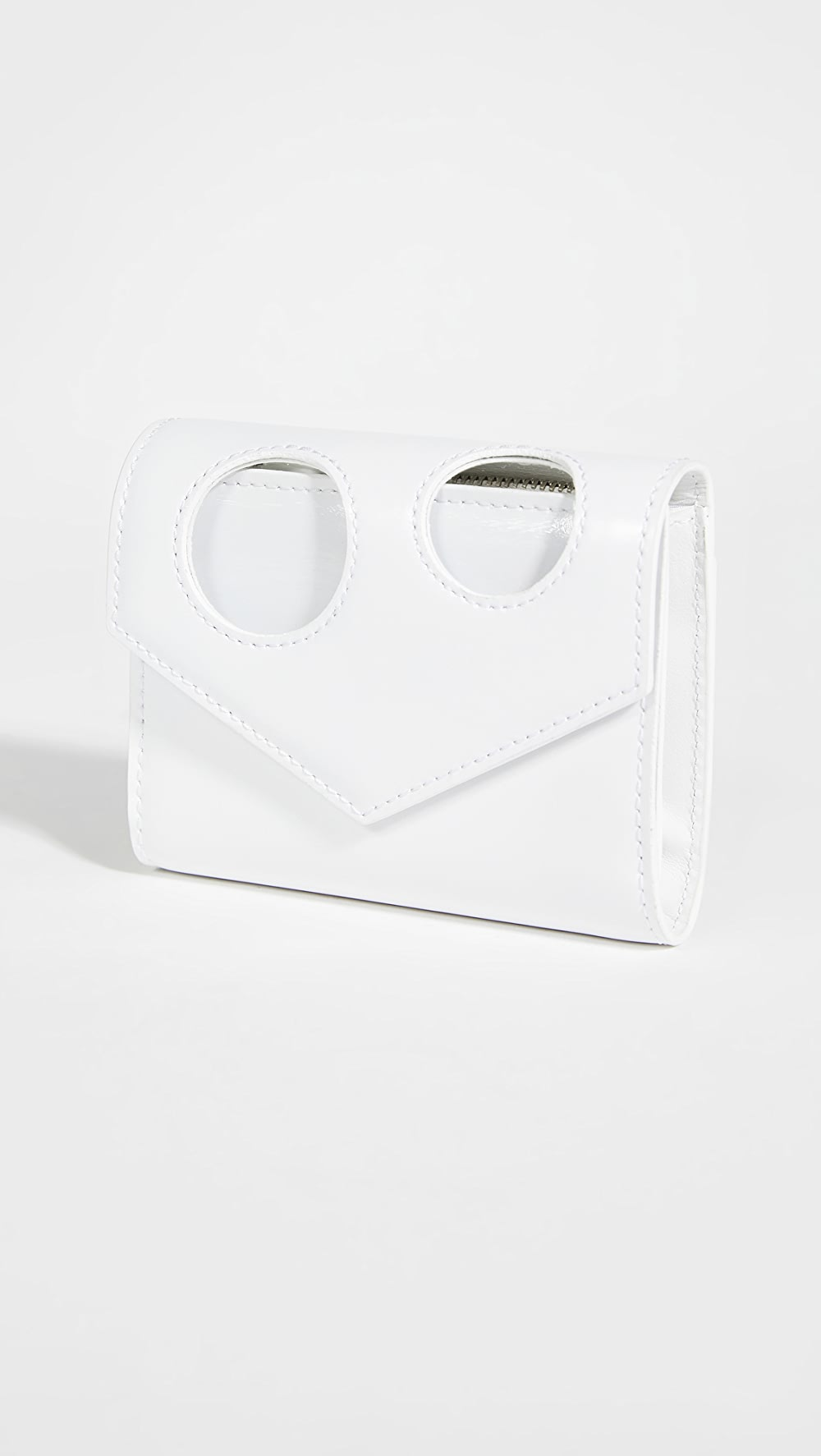 2019 Latest Design Off-white - Hole Small Wallet Buy One Give One