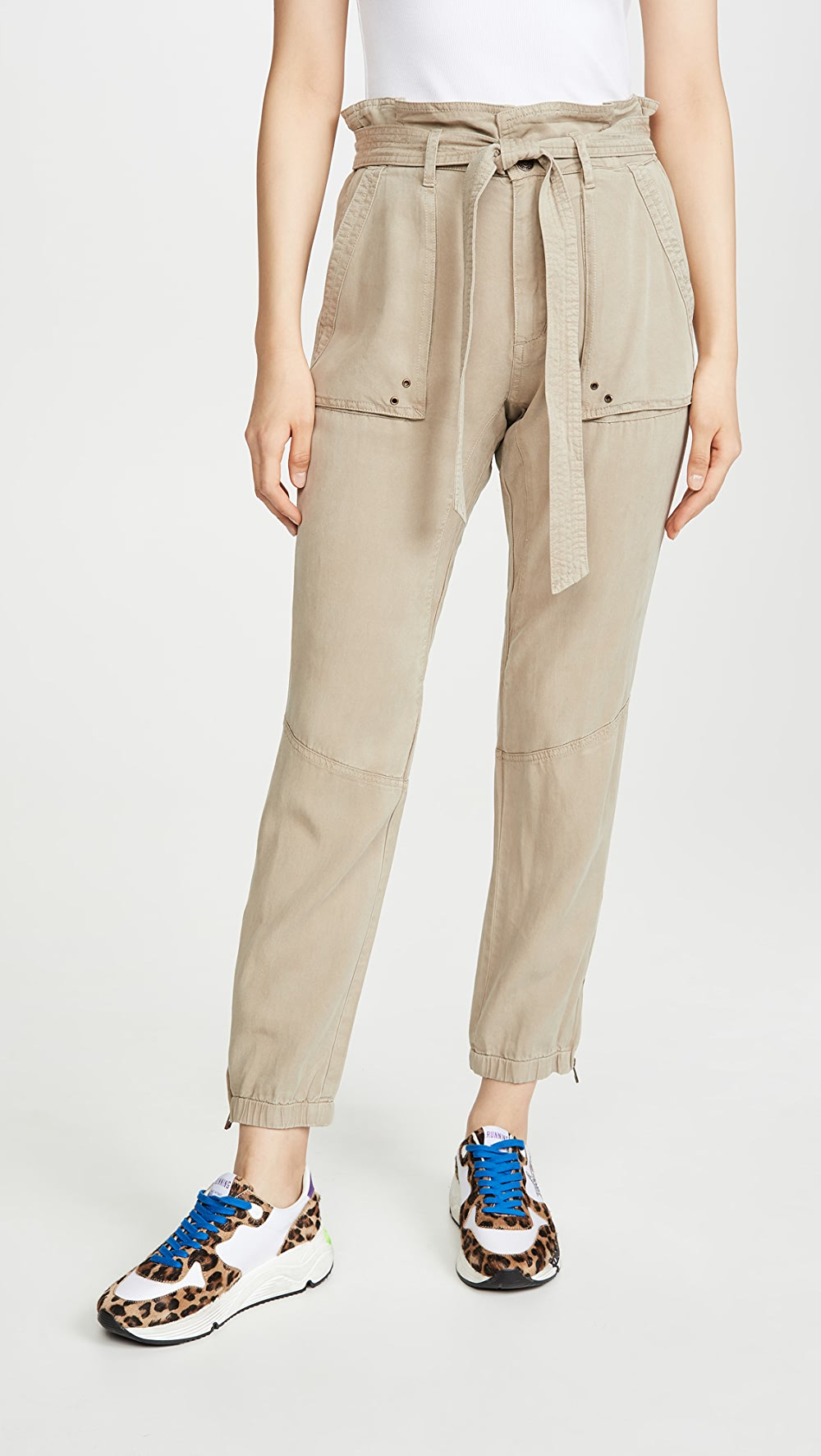 100% True Pam & Gela - Pants With Folded Waist With The Best Service