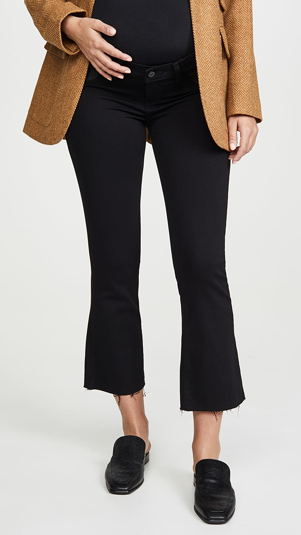 Generous Paige - Colette Maternity Crop Flare Jeans Factories And Mines