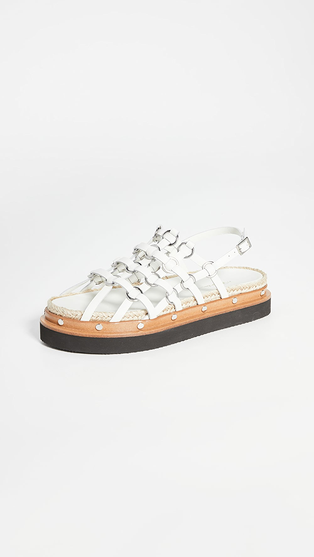 Dashing 3.1 Phillip Lim - Yasmine Cage Espadrille Platform Sandals To Produce An Effect Toward Clear Vision