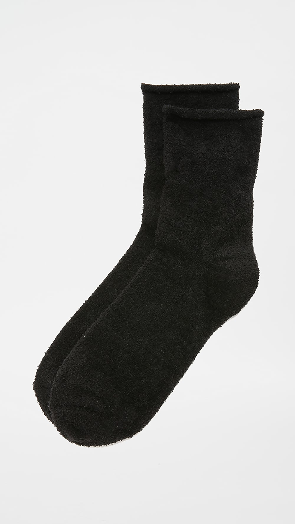 Amicable Plush - Rolled Fleece Socks Supplement The Vital Energy And Nourish Yin