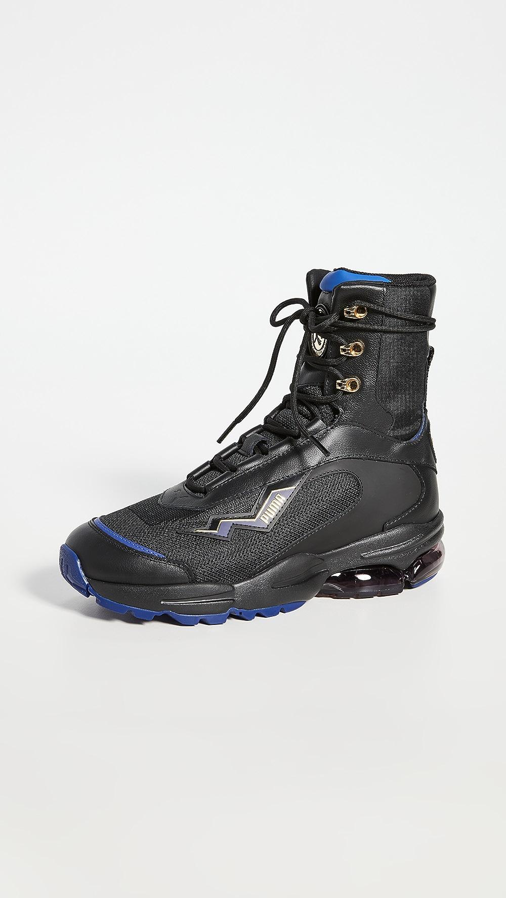 Able Puma - X Balmain Cell Stellar Mid Sneakers Superior Materials