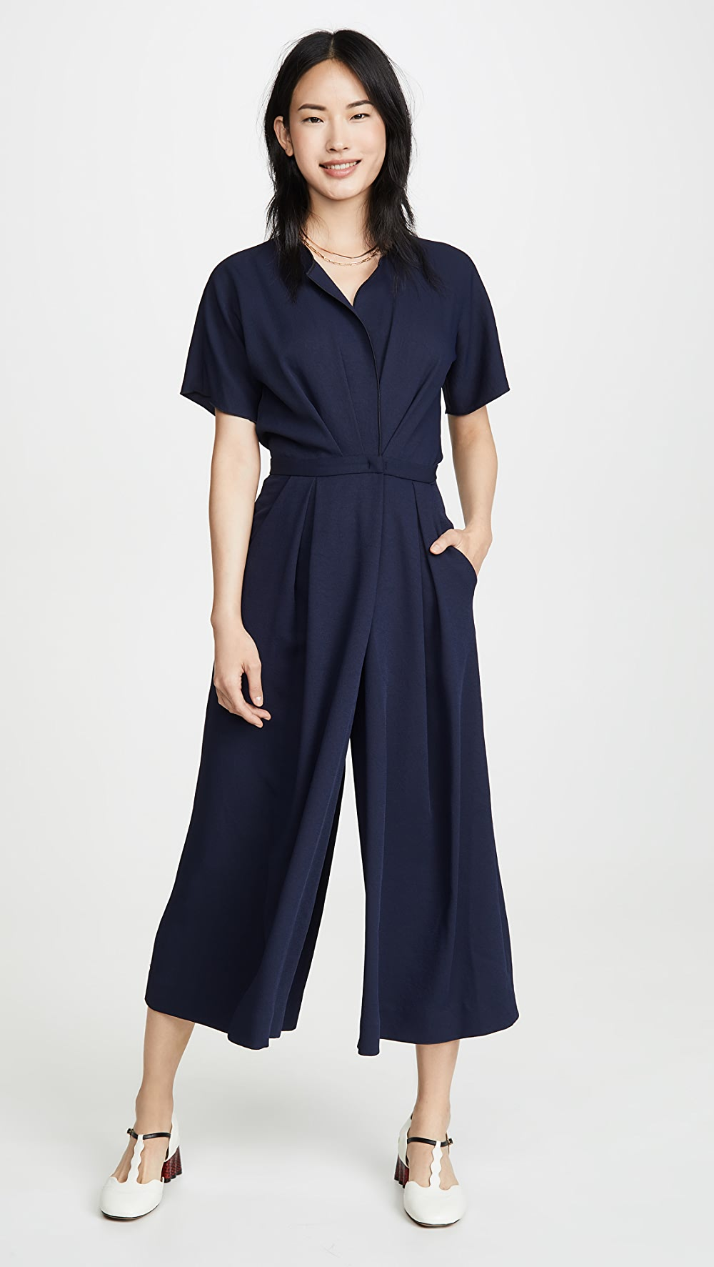 100% True Rachel Comey - Ardent Jumpsuit Rapid Heat Dissipation