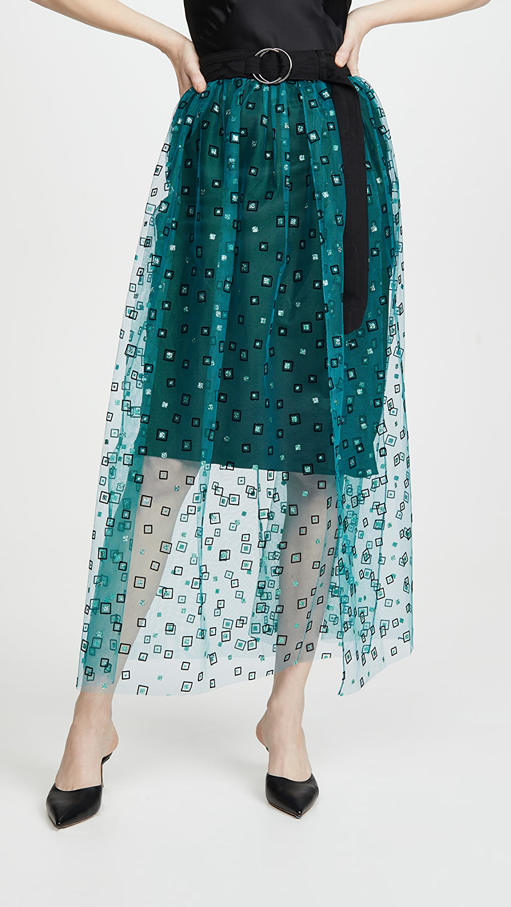 Aspiring Rachel Comey - Frame Tulle Fetes Skirt Distinctive For Its Traditional Properties