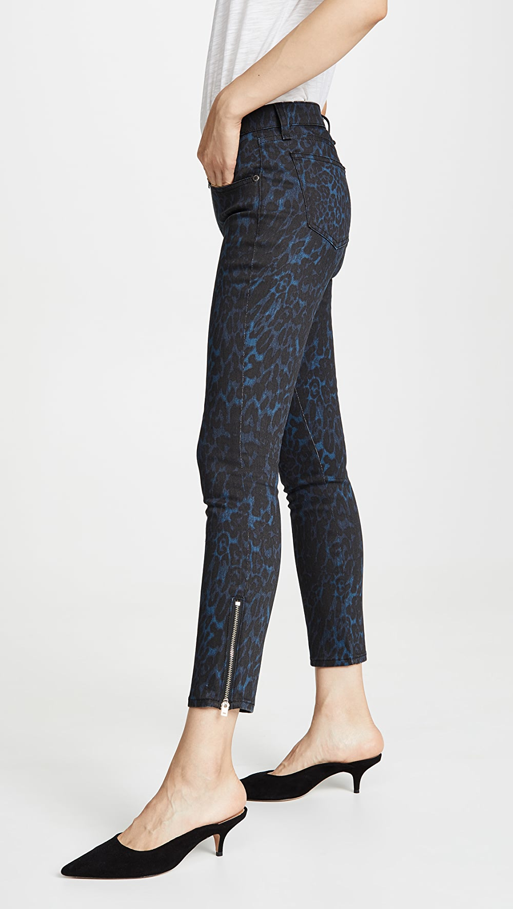 Adroit Ramy Brook - Printed Kate Jeans Extremely Efficient In Preserving Heat