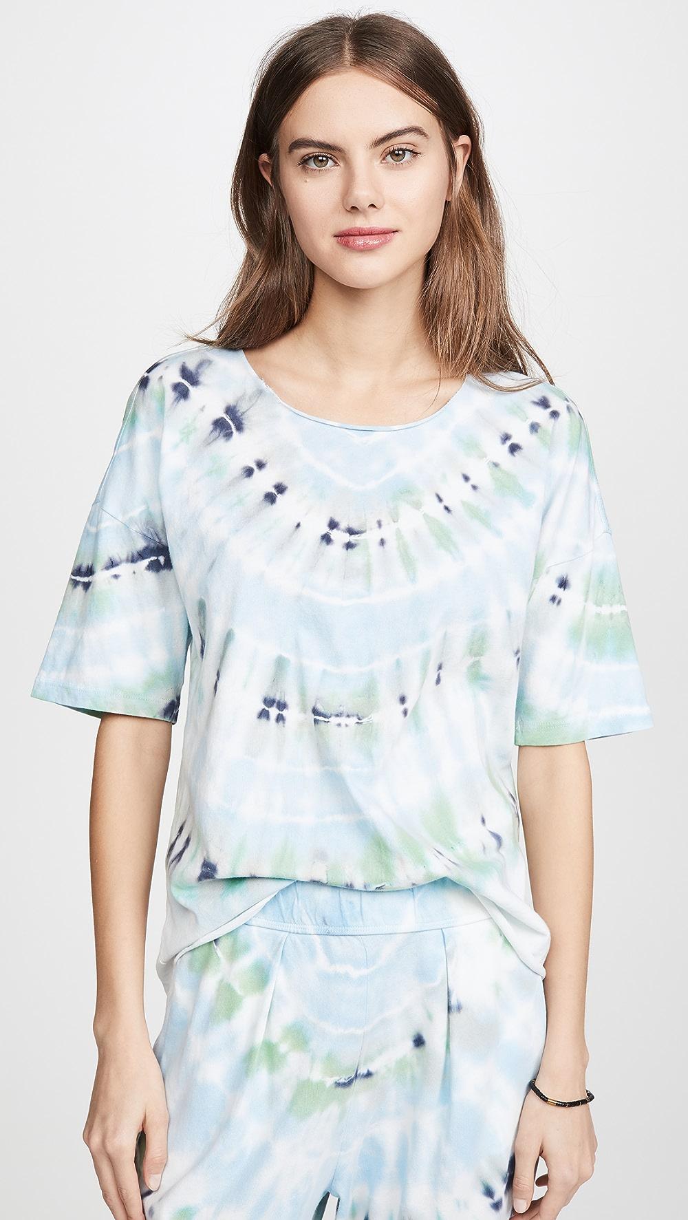 Audacious Raquel Allegra - Basic Tie Dye Tee Special Buy