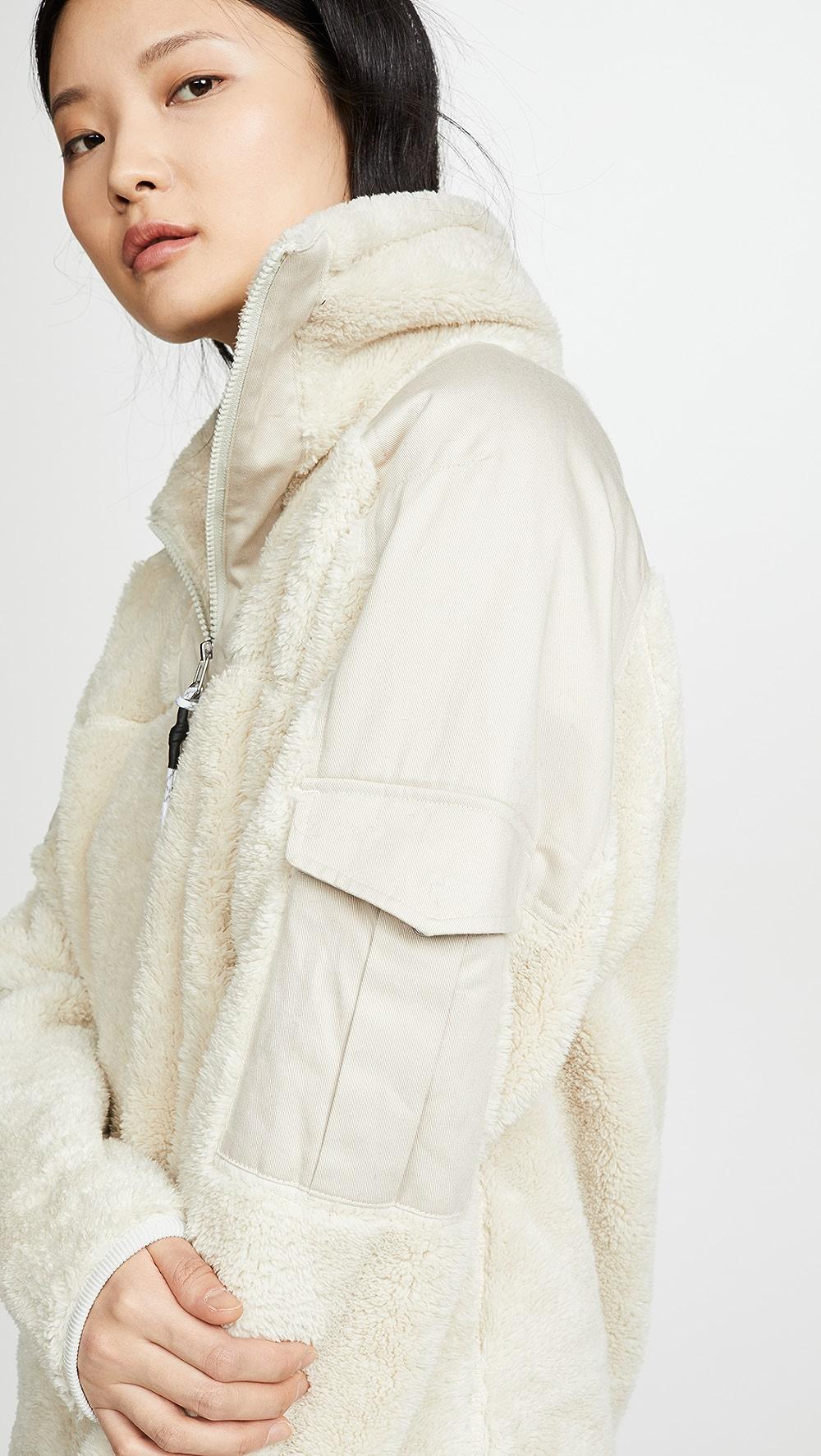 Aggressive Rag & Bone/jean - Logan Sherpa Pullover High Standard In Quality And Hygiene
