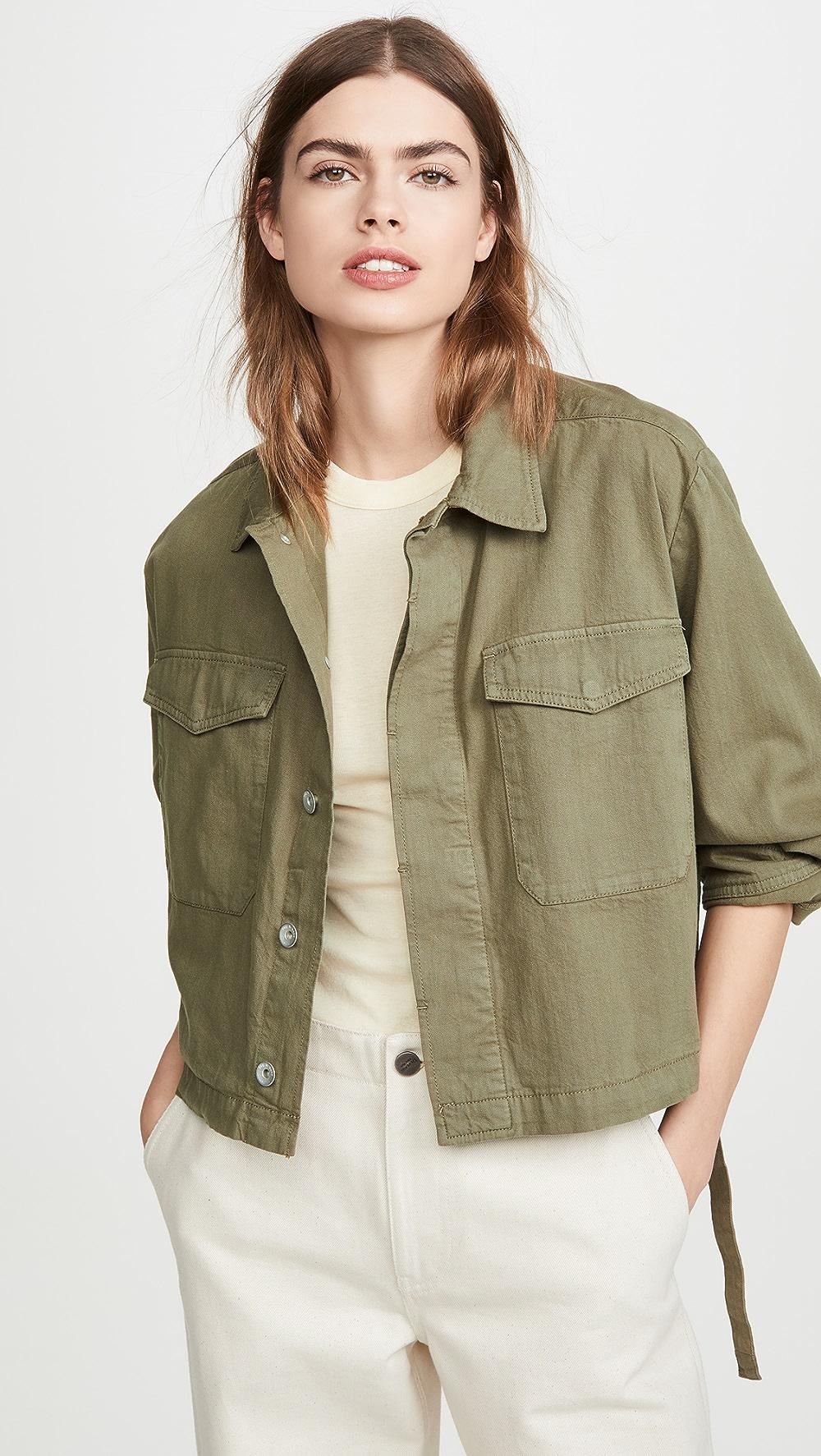 100% True Rag & Bone/jean - Swingback Jacket Special Buy