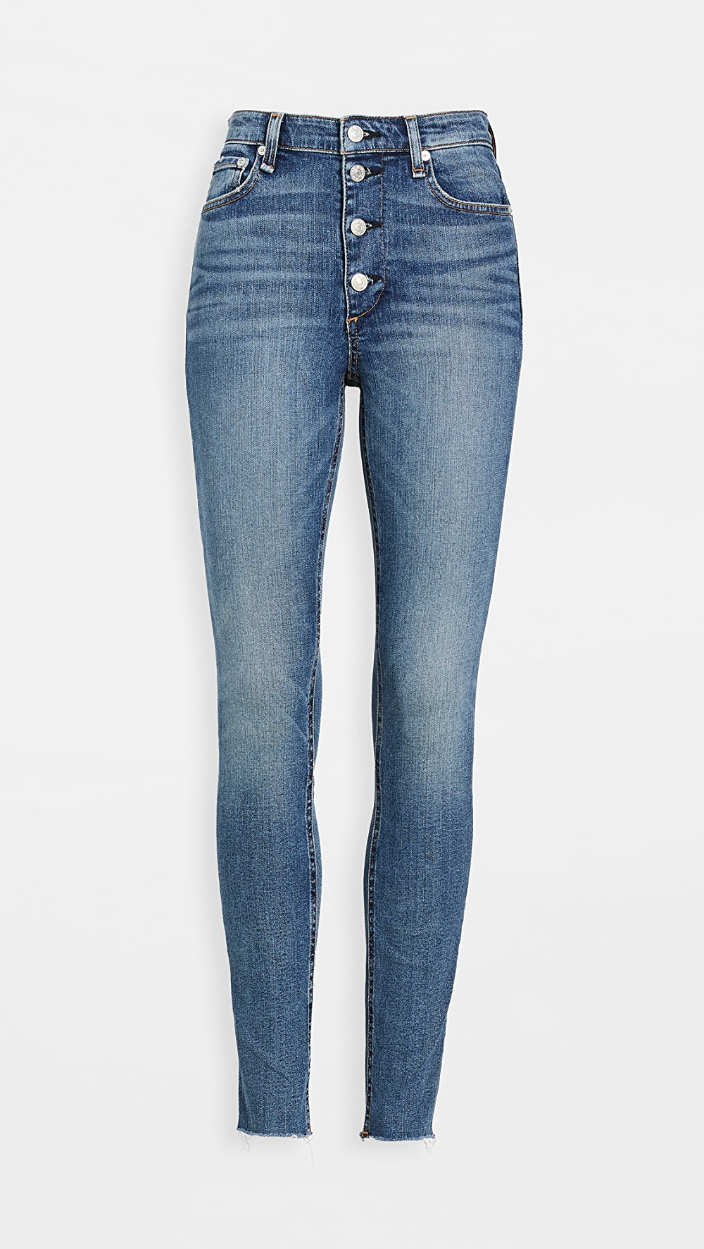100% Quality Rag & Bone/jean - Nina High-rise Skinny Jeans To Be Renowned Both At Home And Abroad For Exquisite Workmanship, Skillful Knitting And Elegant Design