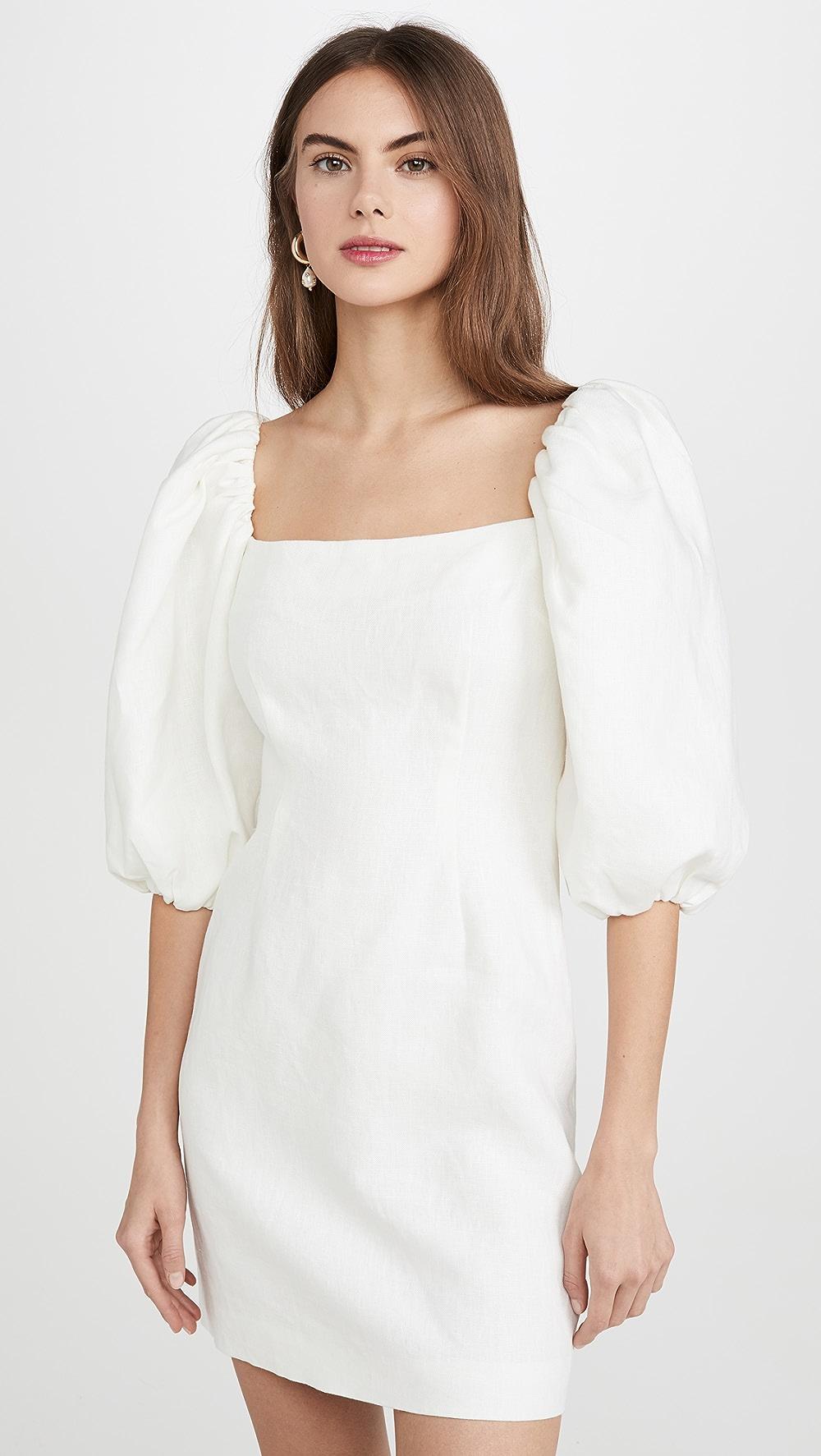 Honest Rebecca De Ravenel - First Impression Mini Dress Perfect In Workmanship