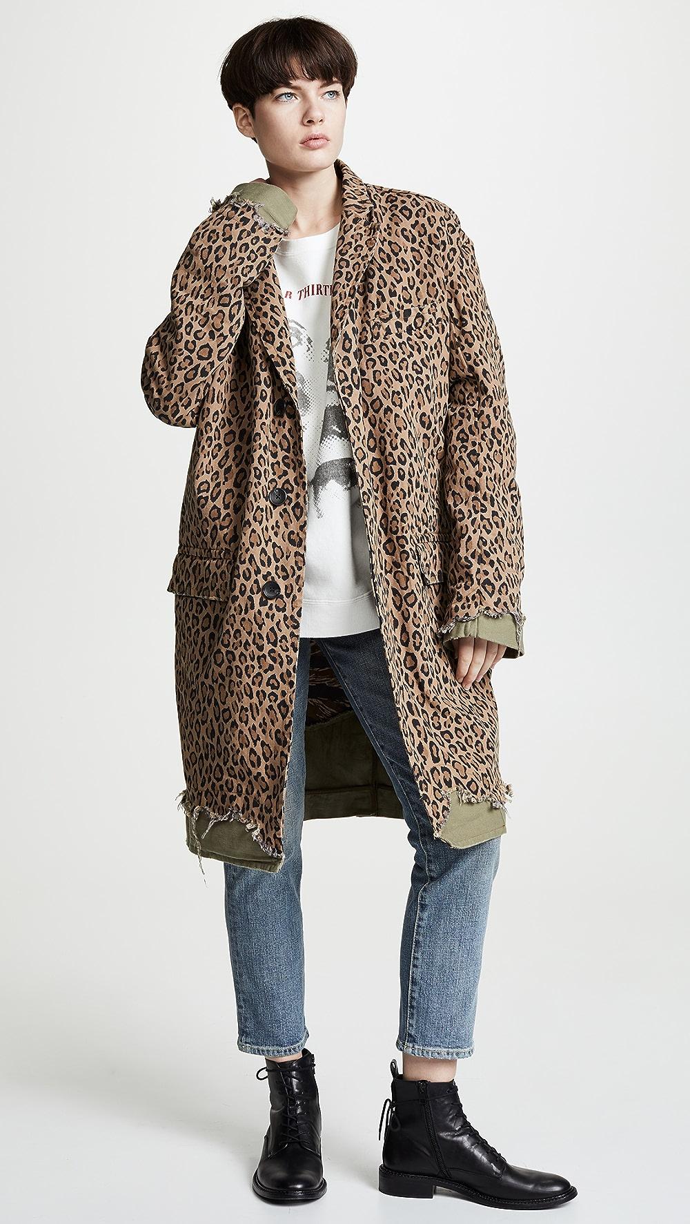 100% Quality R13 - Shredded Coat Year-End Bargain Sale