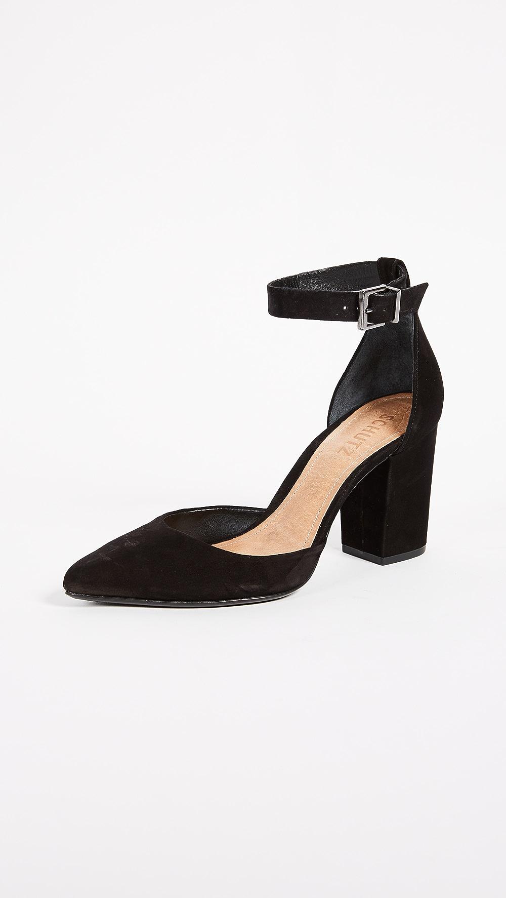 Amiable Schutz - Ionara Ankle Strap Pumps Fashionable Patterns