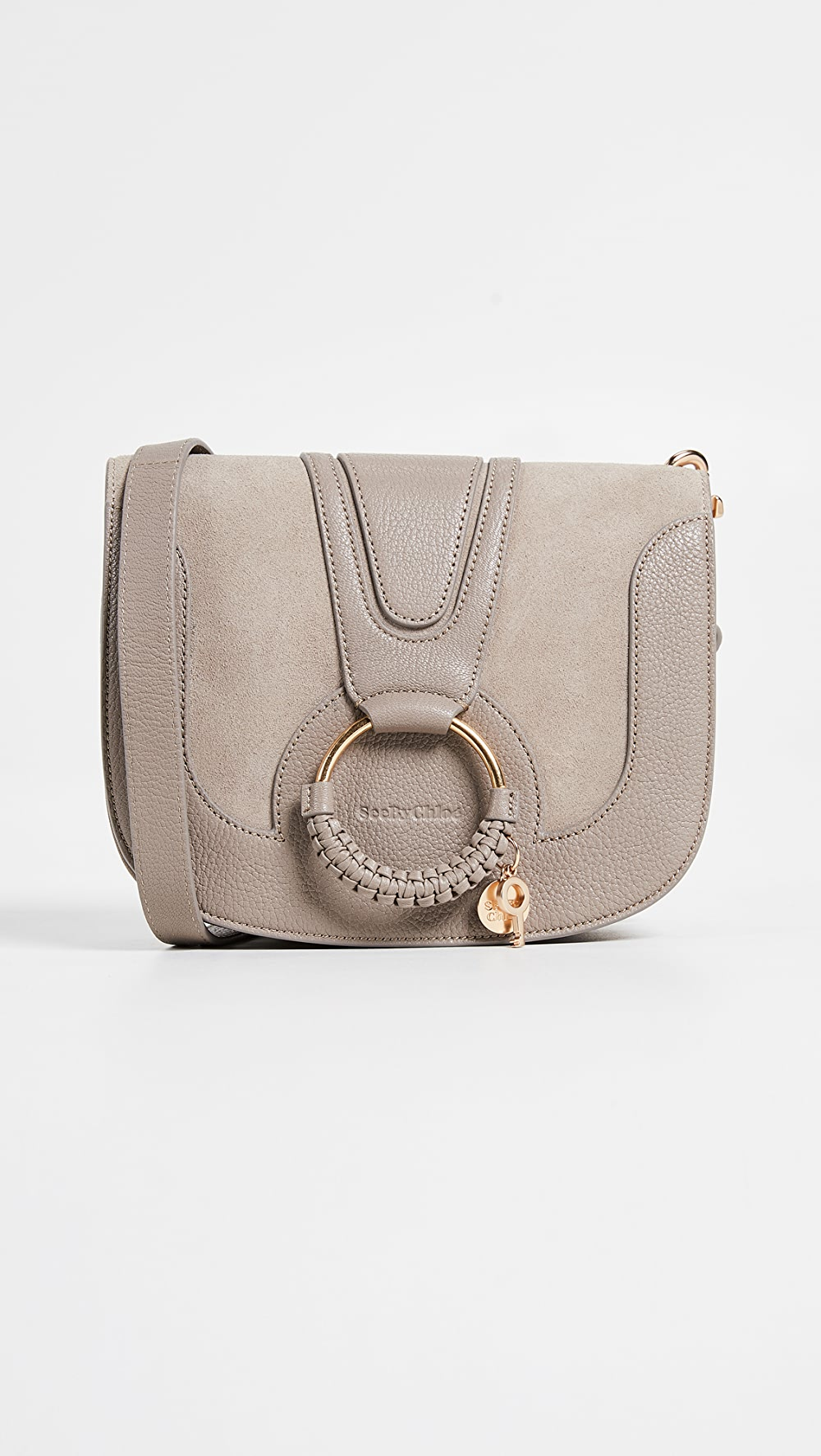 100% Quality See By Chloe - Hana Small Saddle Bag Strong Packing