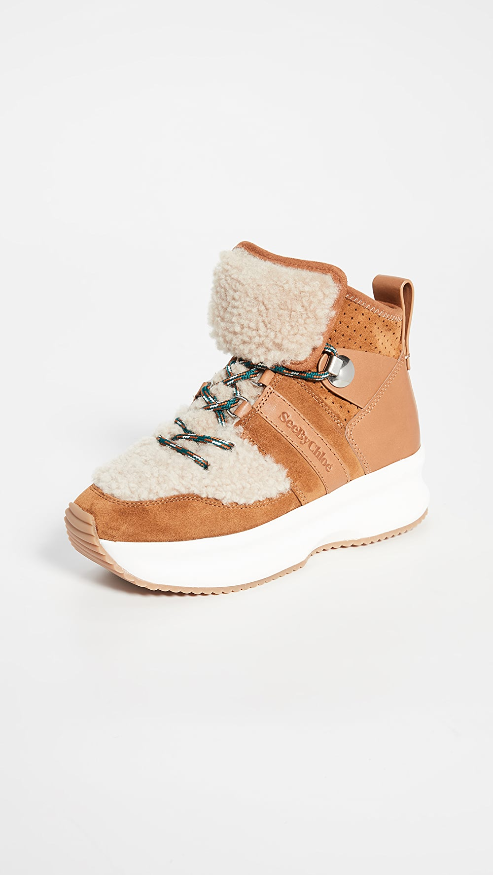 Alert See By Chloe - Casey Shearling Sneakers Reliable Performance