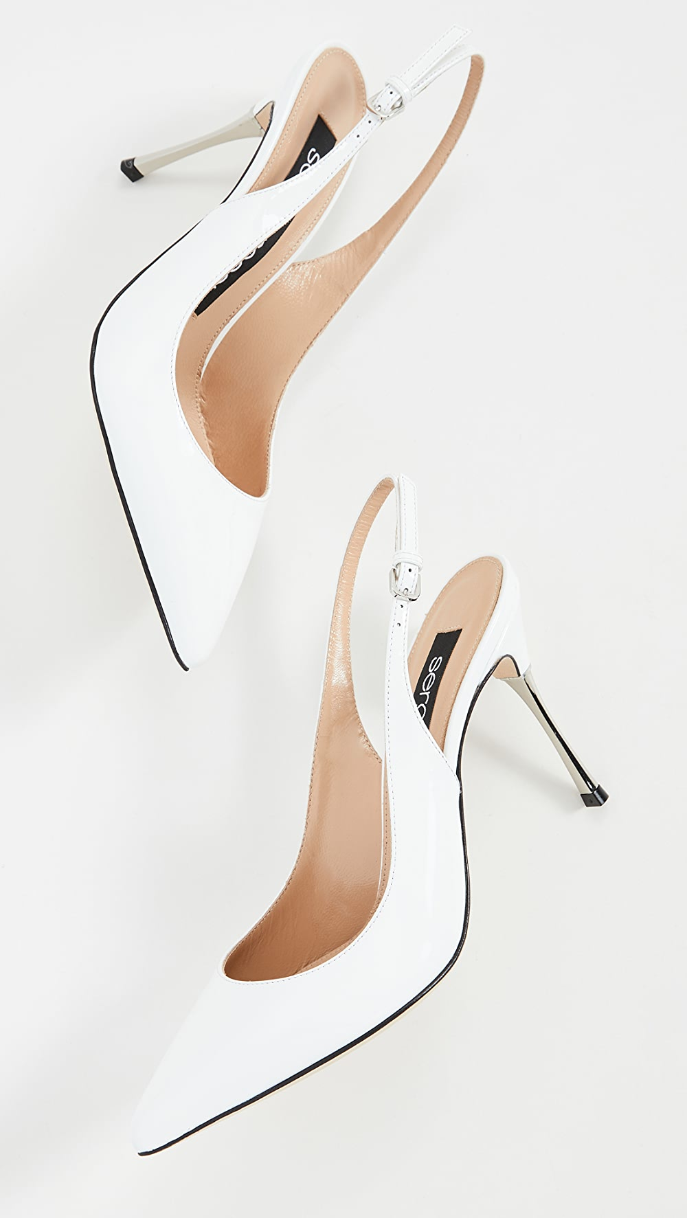 Active Sergio Rossi - Godiva Steel Slingbacks Quality And Quantity Assured
