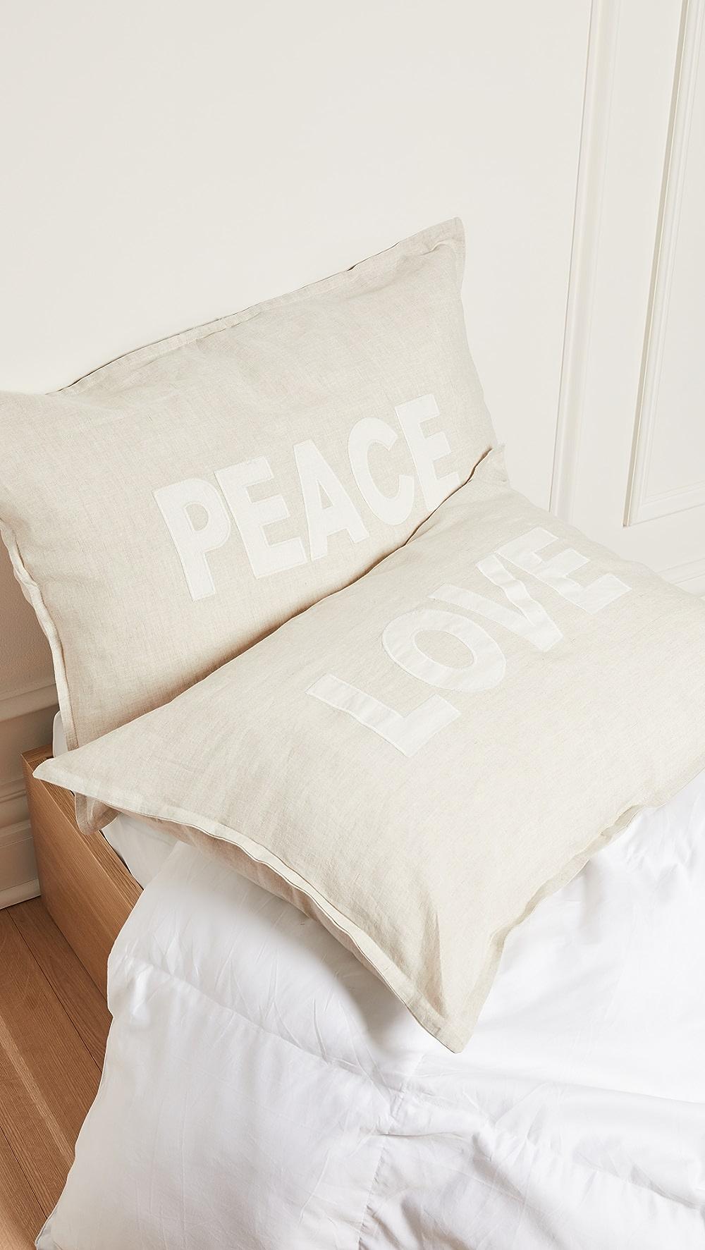 Beautiful Shopbop @home - Pom Pom At Home: Love & Peace Pillow Set Agreeable Sweetness