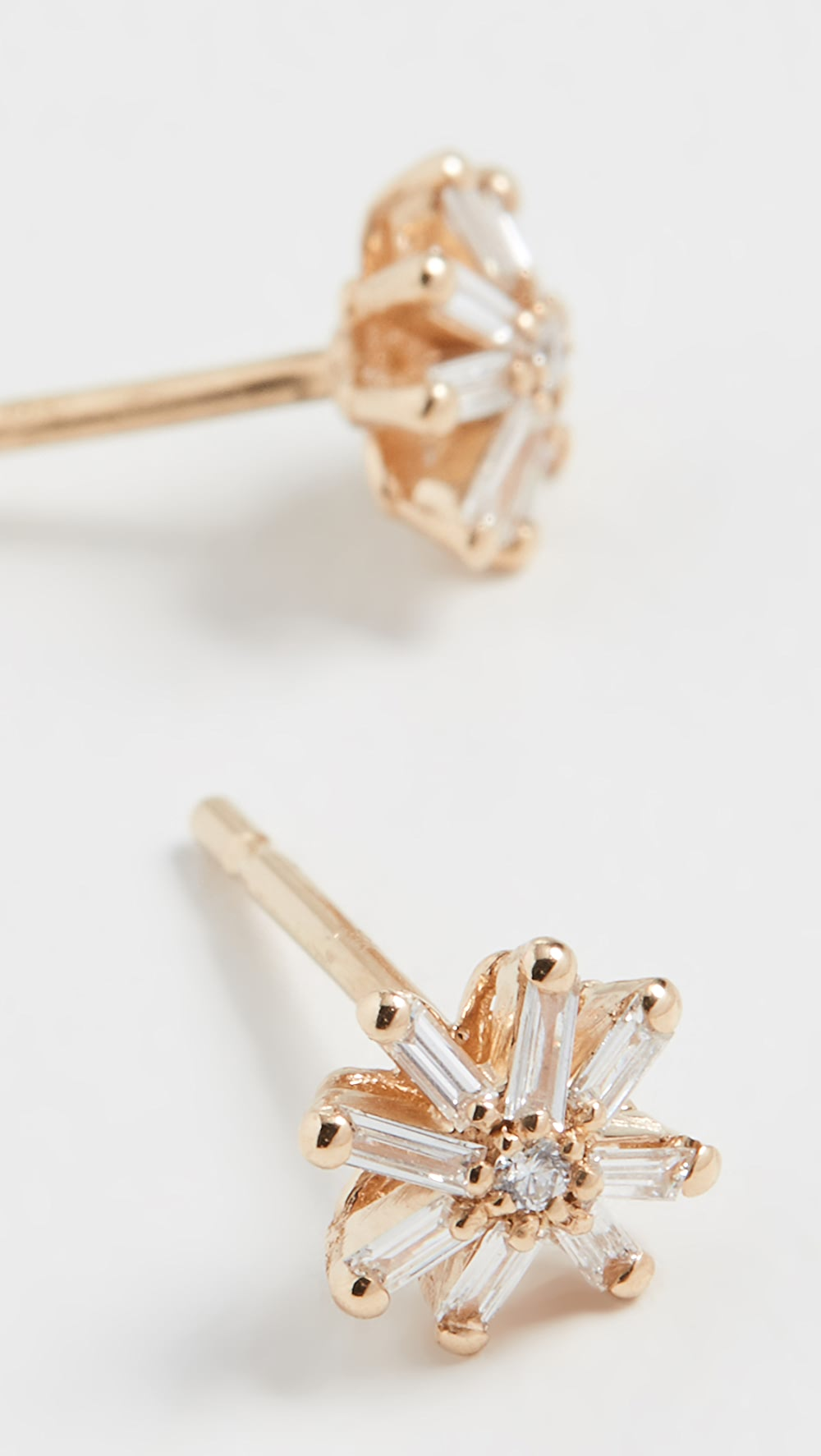 Ambitious Suzanne Kalan - 18k Yellow Gold Small Starburst Stud Earrings Special Buy