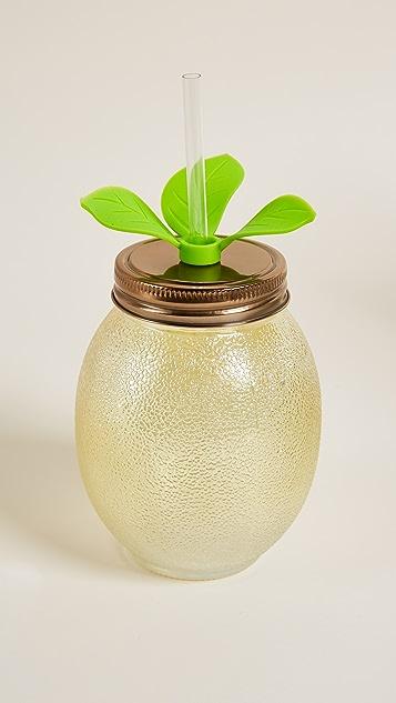 Slant Collections柠檬形状吸管杯