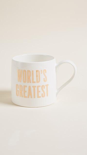 Slant Collections World's Greatest大号杯子