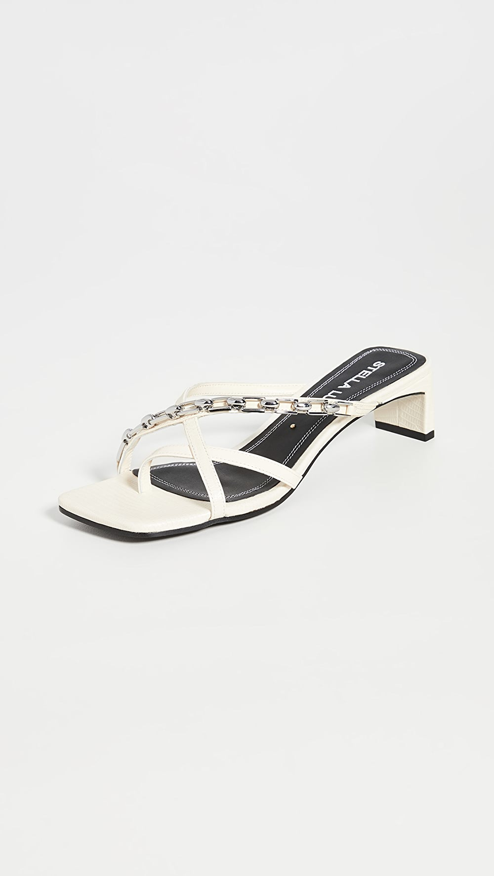 Adaptable Stella Luna - Strappy Chain Slides Beautiful And Charming
