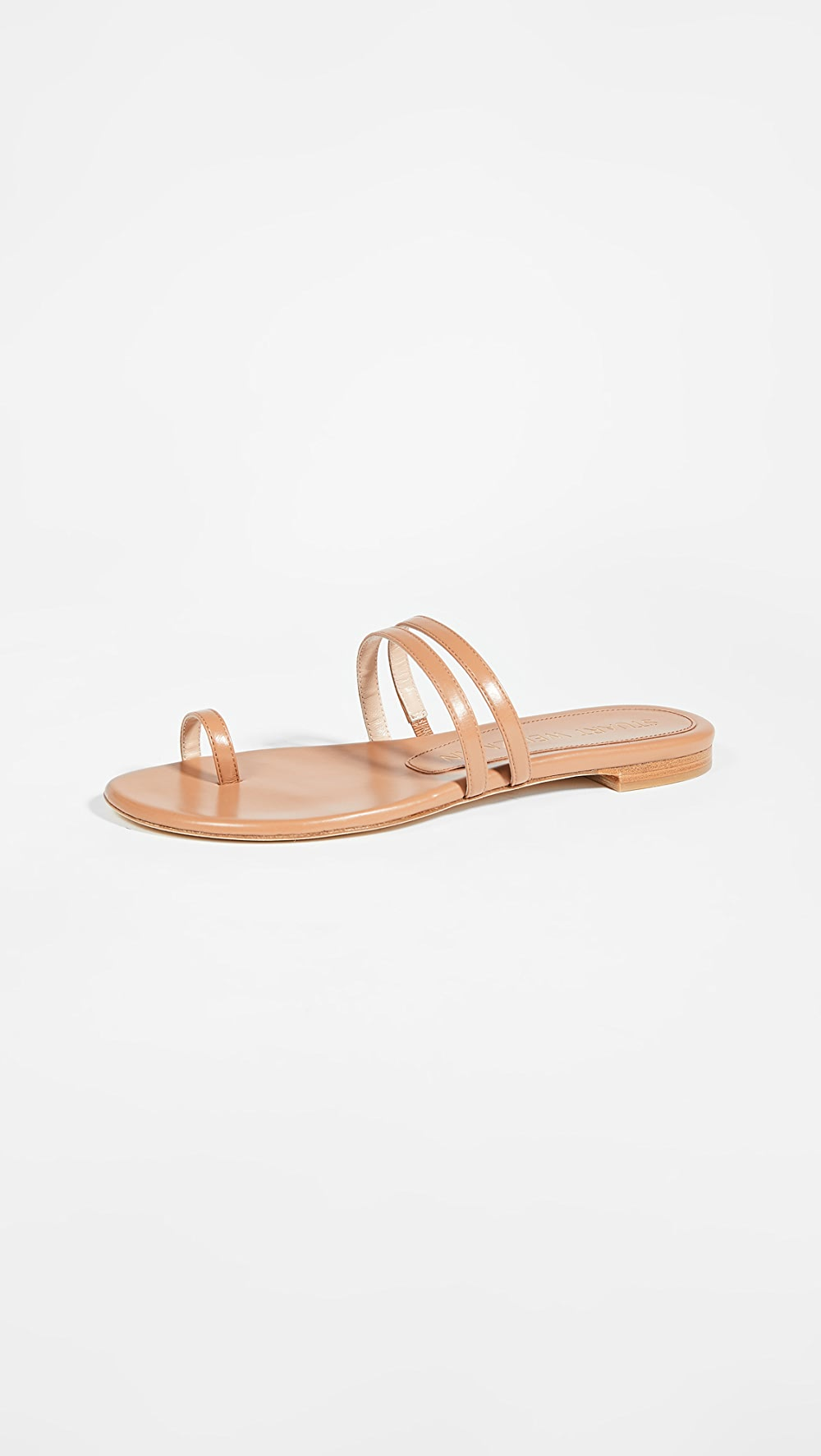 Systematic Stuart Weitzman - Leonita Slide Sandals With The Most Up-To-Date Equipment And Techniques